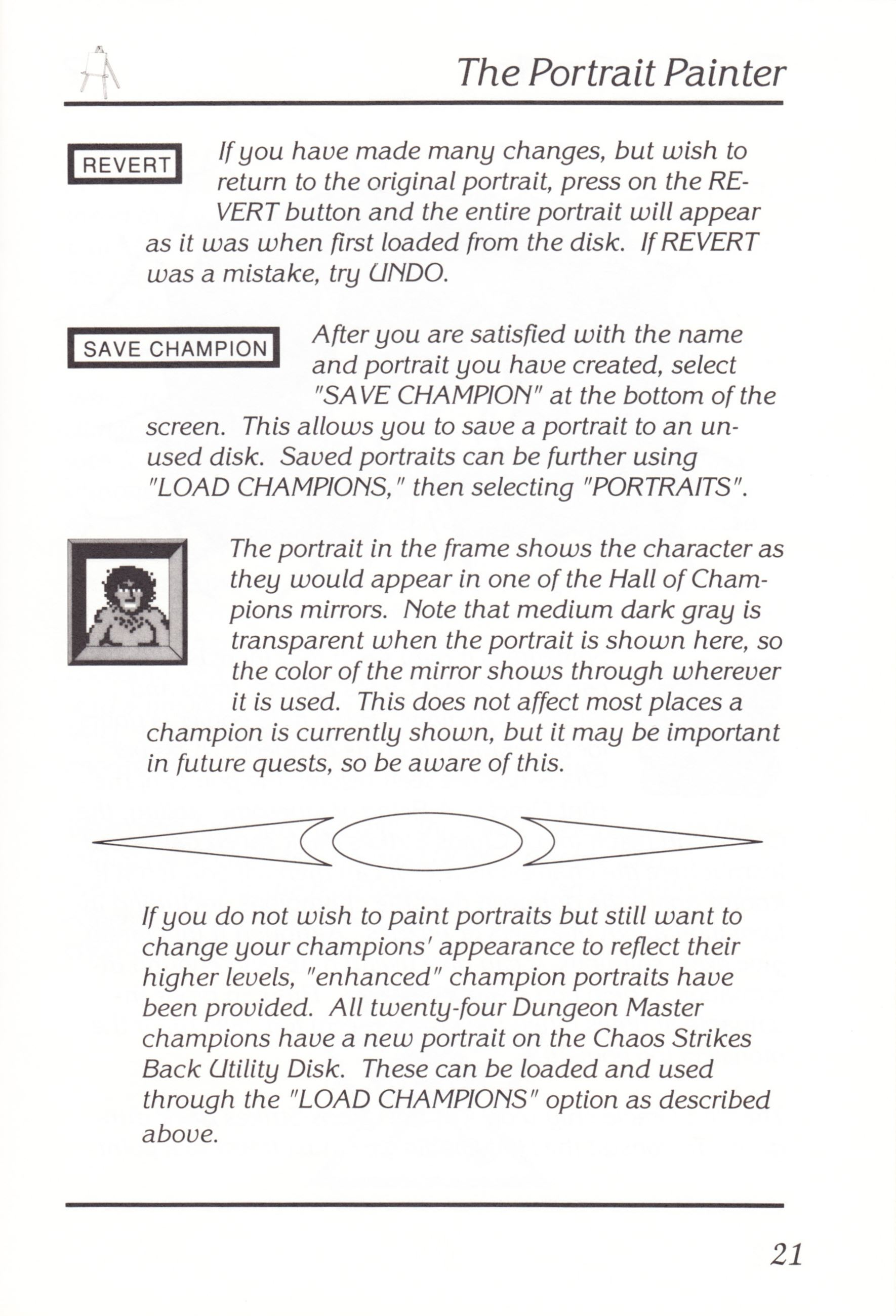 Game - Chaos Strikes Back - UK - Amiga - Manual - Page 023 - Scan