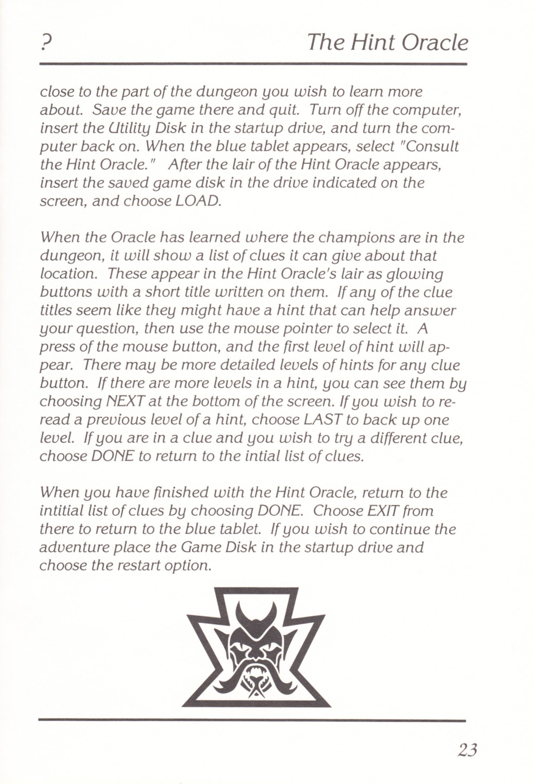 Game - Chaos Strikes Back - UK - Amiga - Manual - Page 025 - Scan