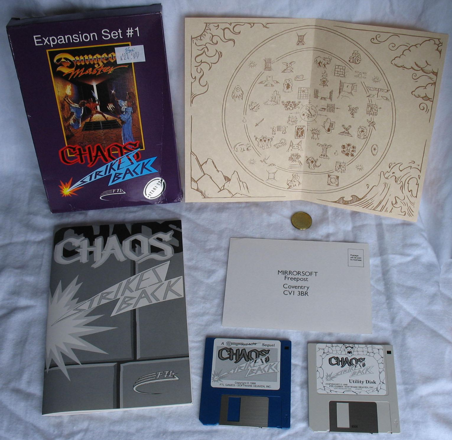 Game - Chaos Strikes Back - UK - Atari ST - All - Overview - Photo