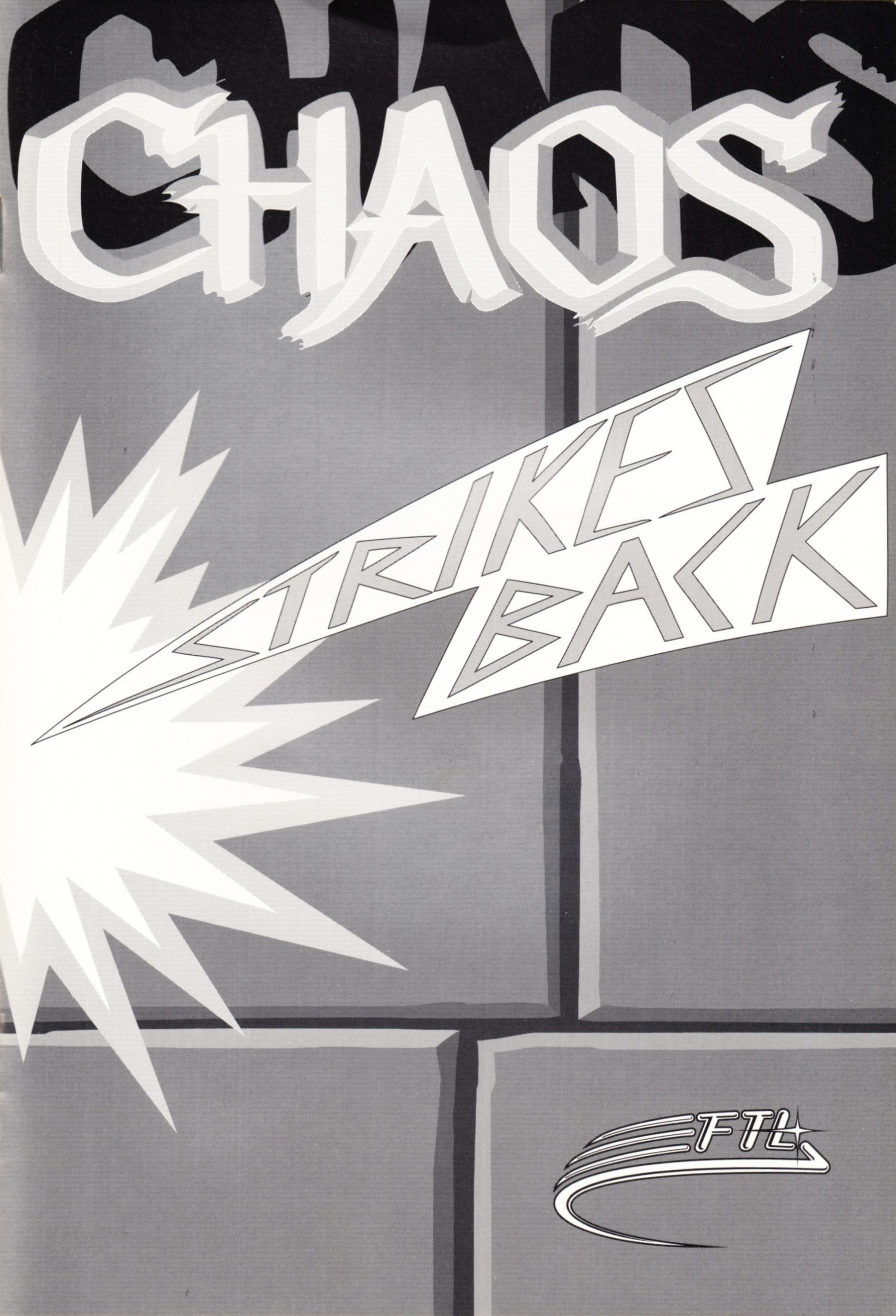 Game - Chaos Strikes Back - UK - Atari ST - Manual - Page 001 - Scan