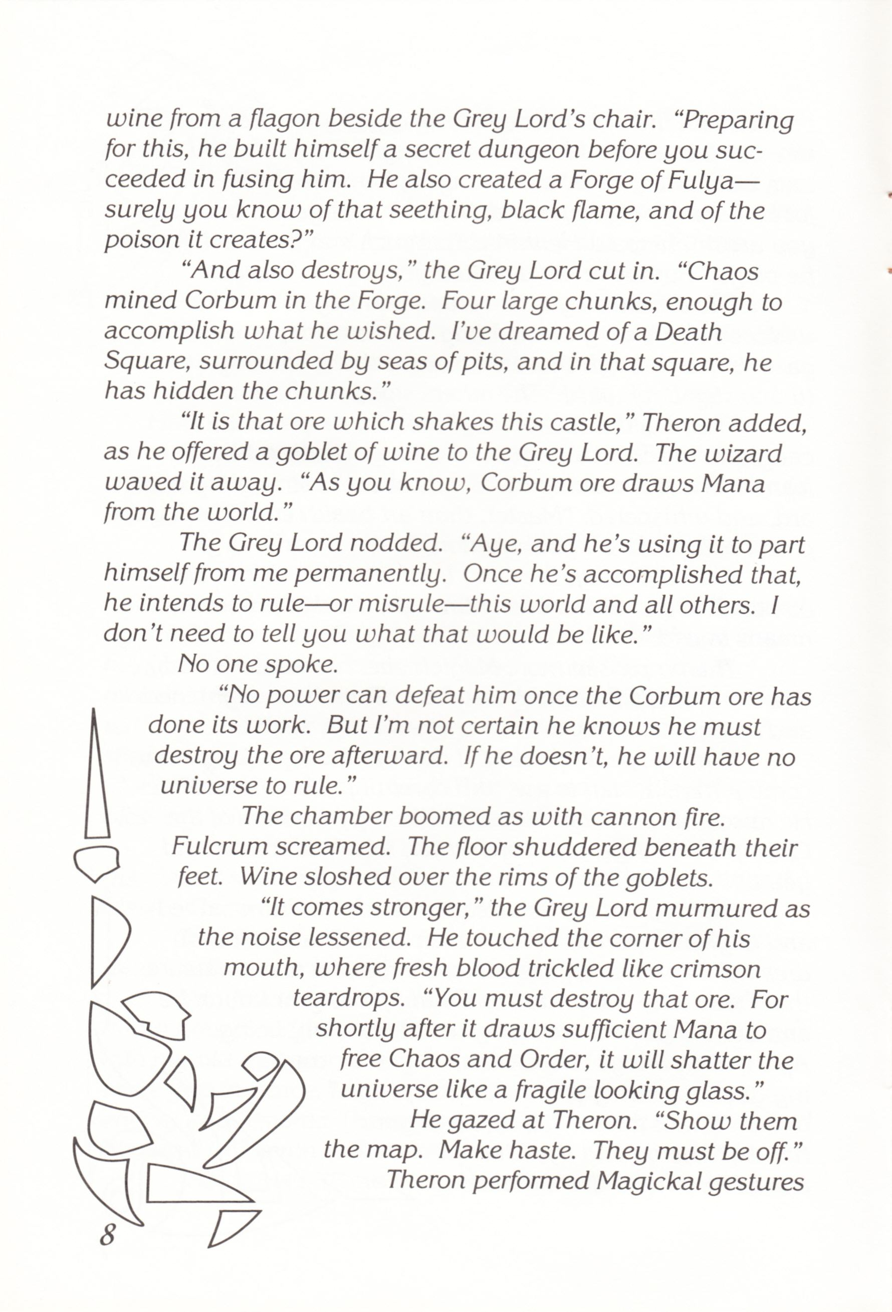 Game - Chaos Strikes Back - UK - Atari ST - Manual - Page 010 - Scan