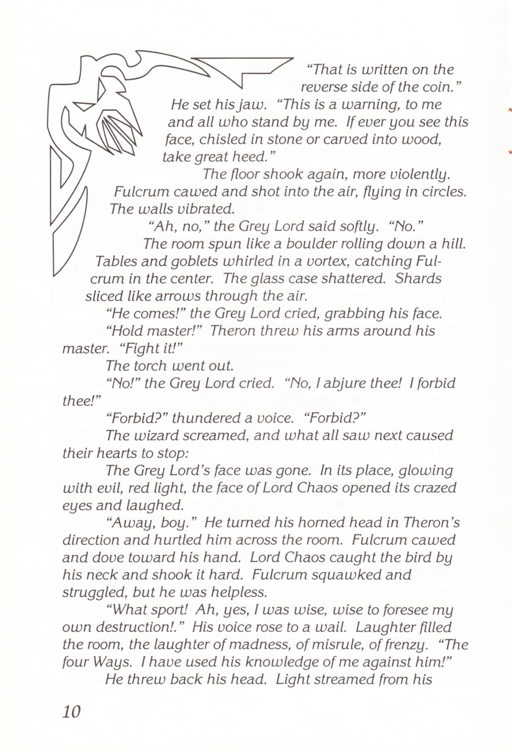 Game - Chaos Strikes Back - UK - Atari ST - Manual - Page 012 - Scan