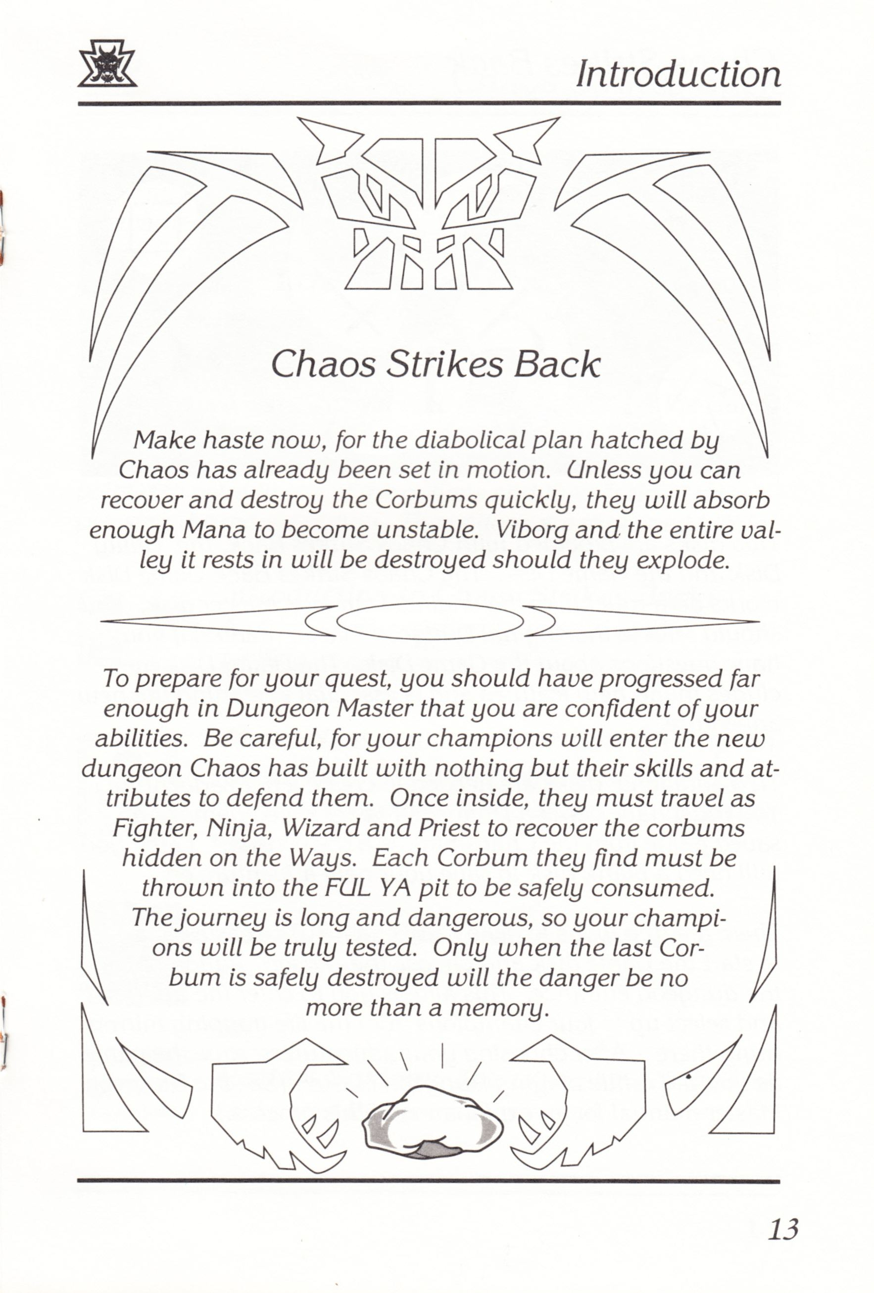 Game - Chaos Strikes Back - UK - Atari ST - Manual - Page 015 - Scan