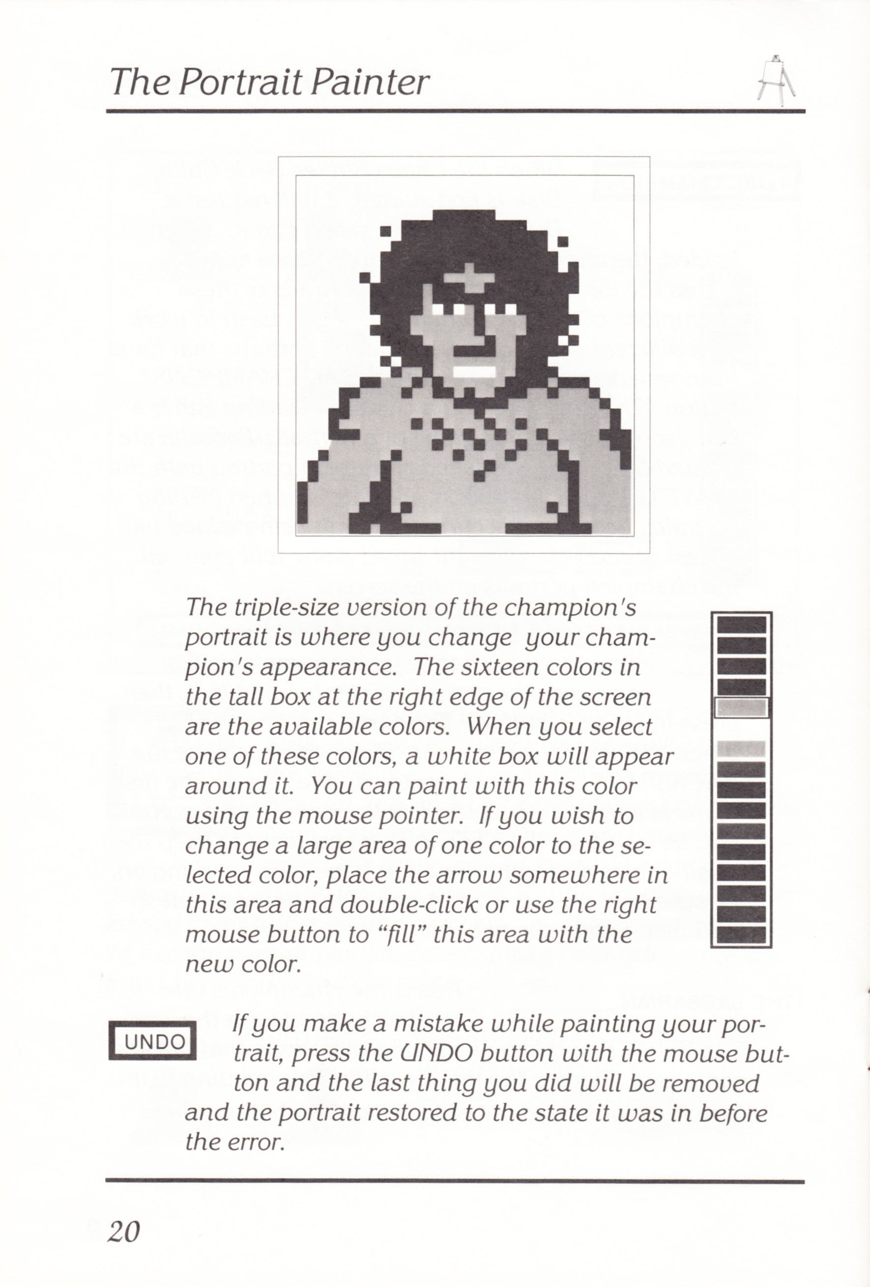 Game - Chaos Strikes Back - UK - Atari ST - Manual - Page 022 - Scan