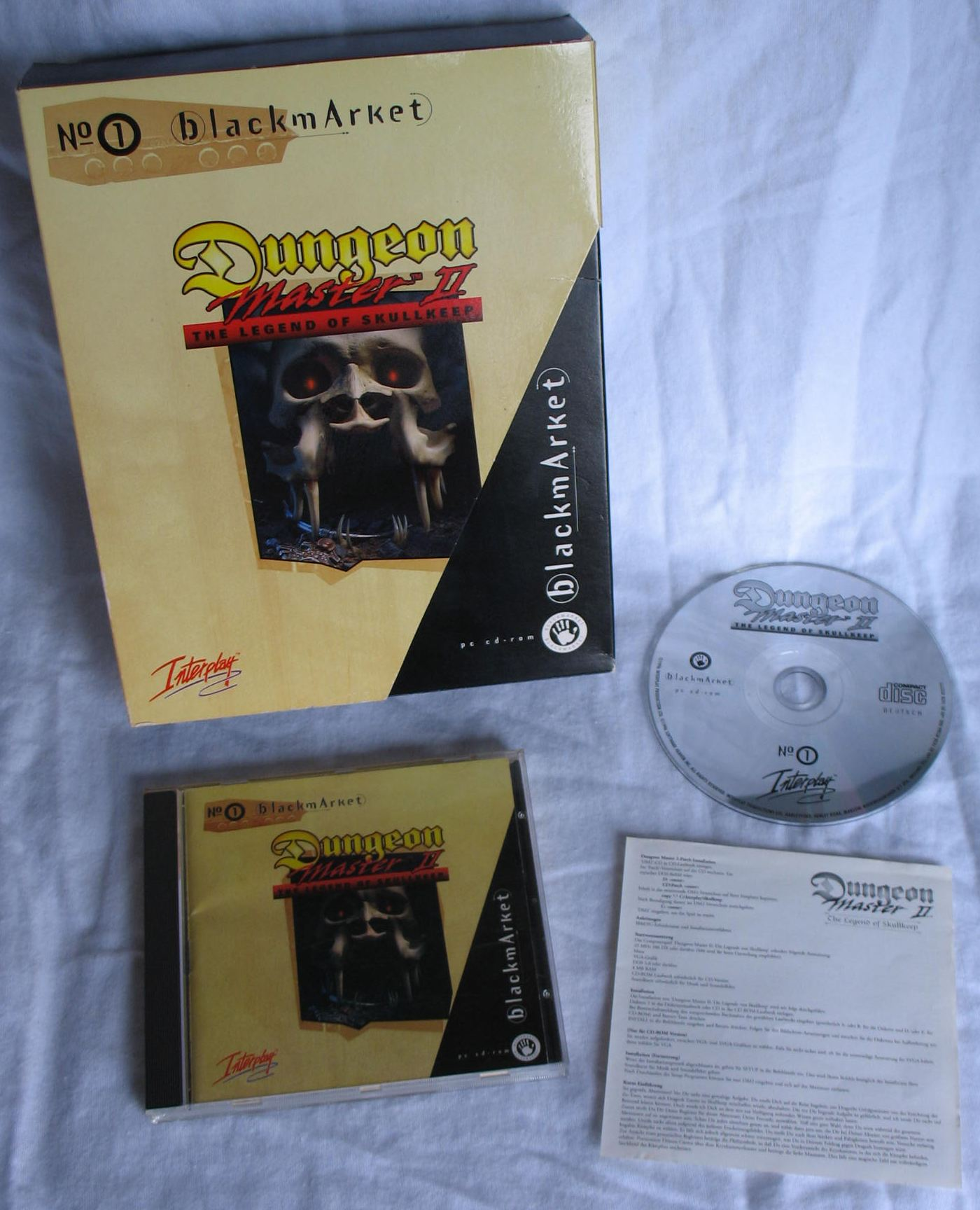 Game - Dungeon Master II - DE - PC - Blackmarket With Booklet - All - Overview - Photo