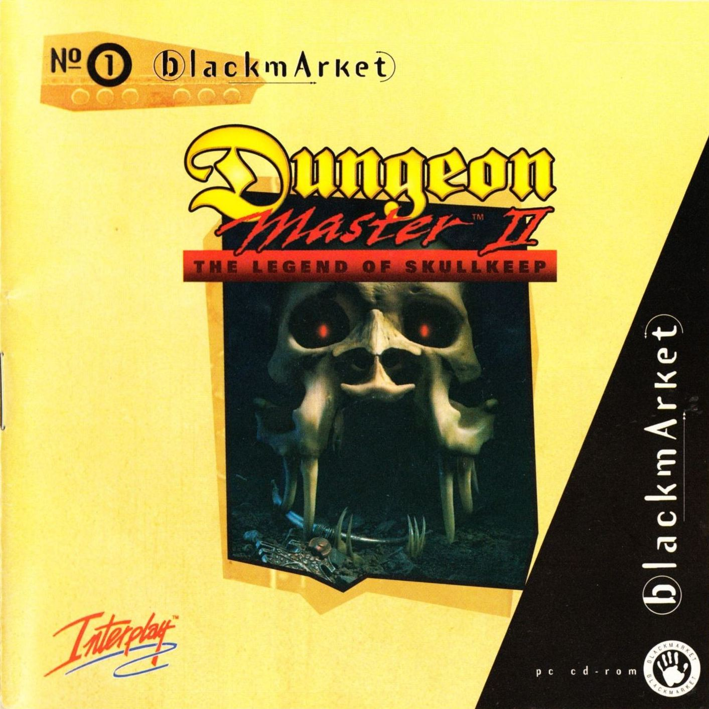 Game - Dungeon Master II - DE - PC - Blackmarket With Booklet - Booklet - Page 001 - Scan