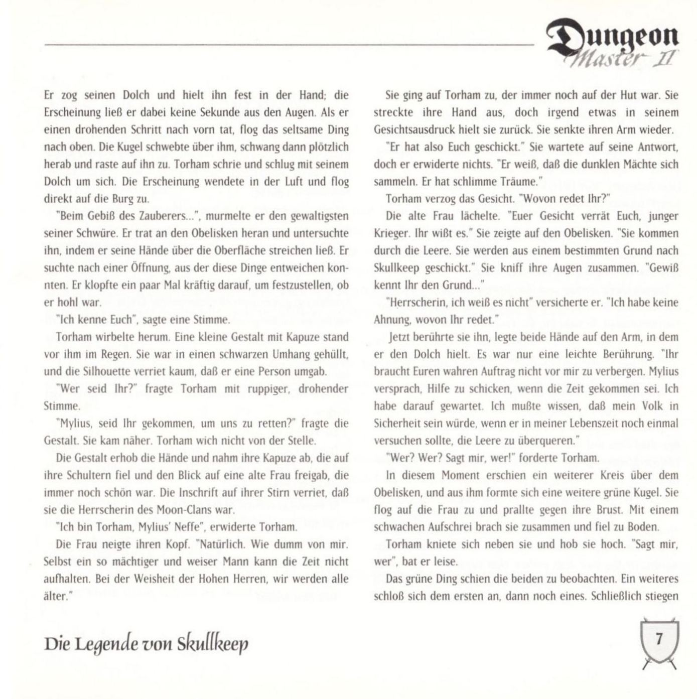 Game - Dungeon Master II - DE - PC - Blackmarket With Booklet - Booklet - Page 009 - Scan