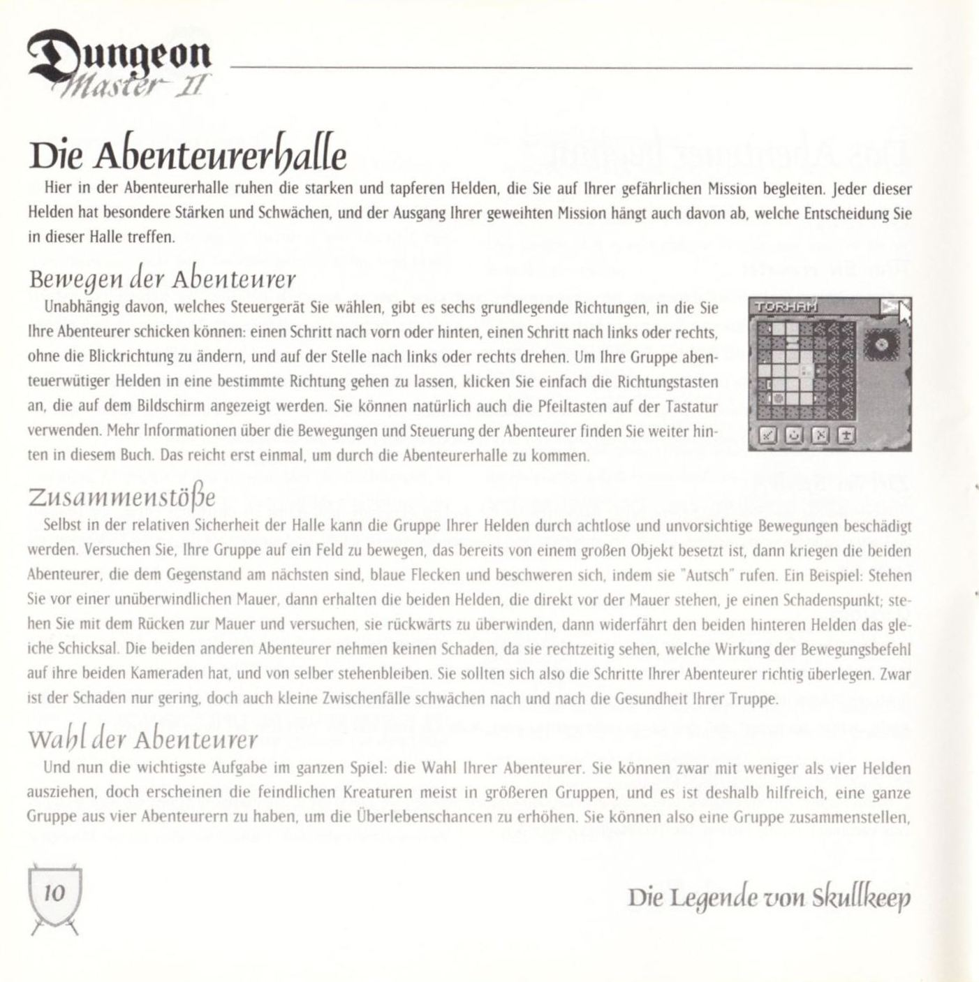 Game - Dungeon Master II - DE - PC - Blackmarket With Booklet - Booklet - Page 012 - Scan