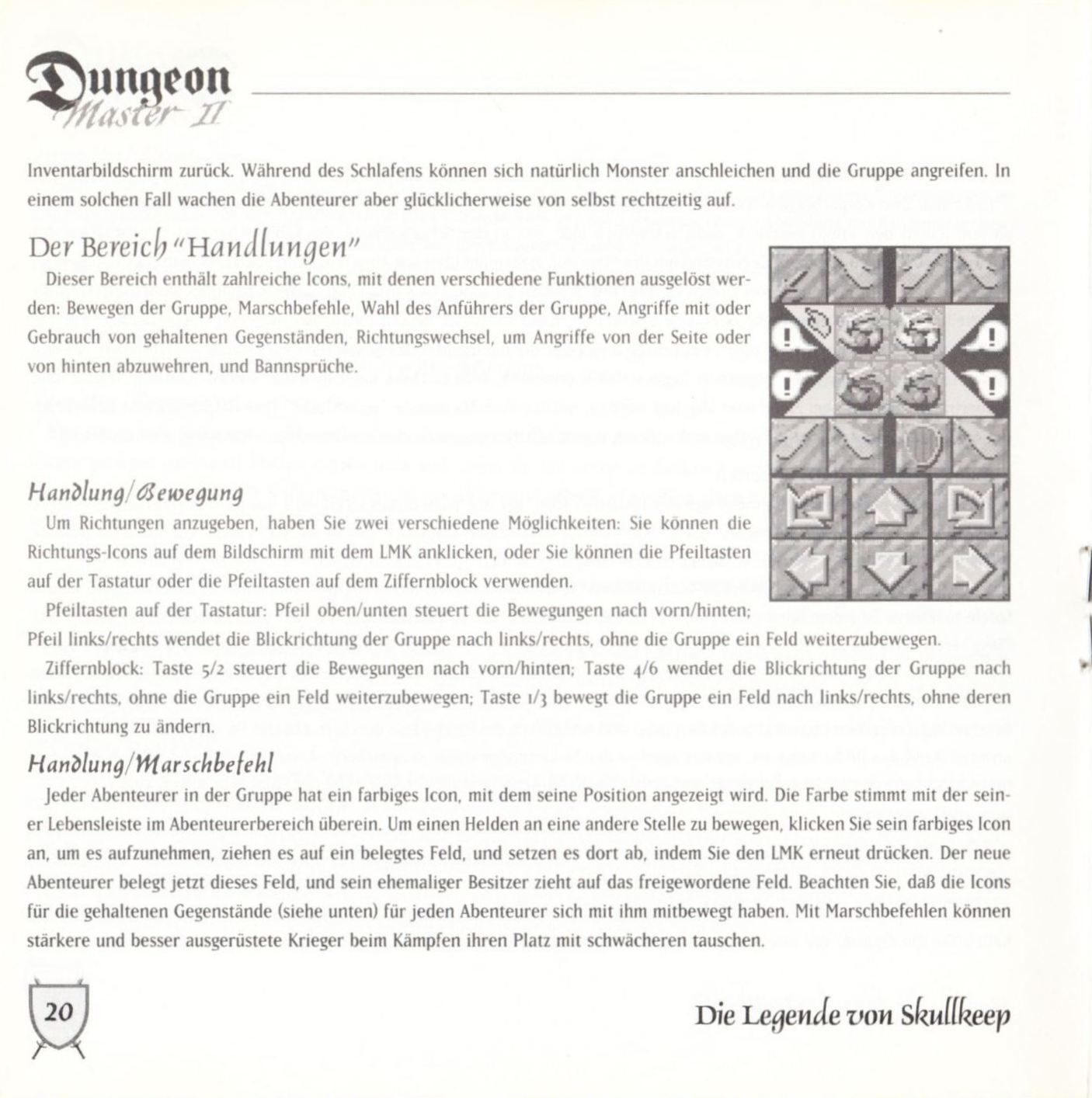 Game - Dungeon Master II - DE - PC - Blackmarket With Booklet - Booklet - Page 022 - Scan