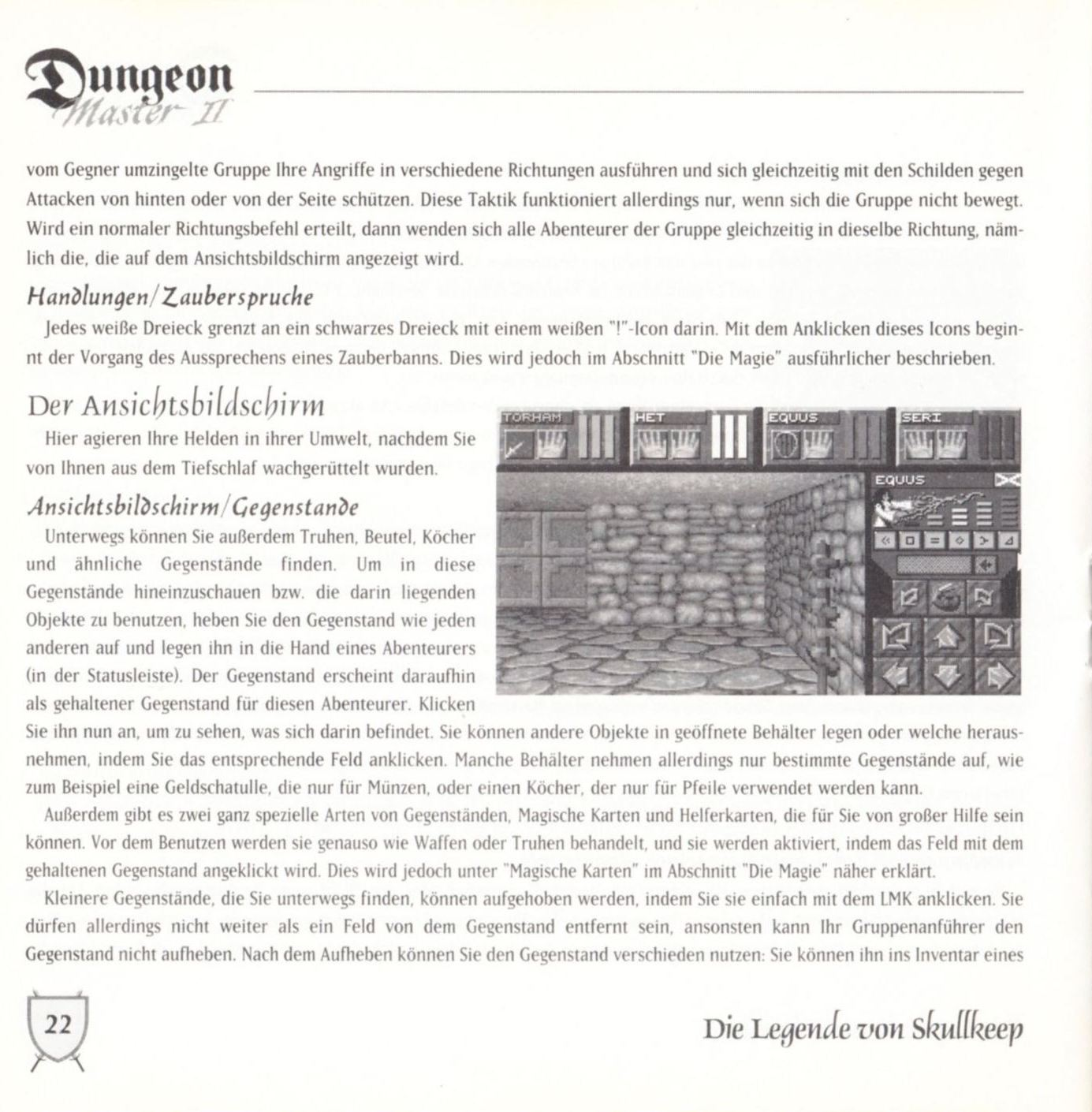 Game - Dungeon Master II - DE - PC - Blackmarket With Booklet - Booklet - Page 024 - Scan