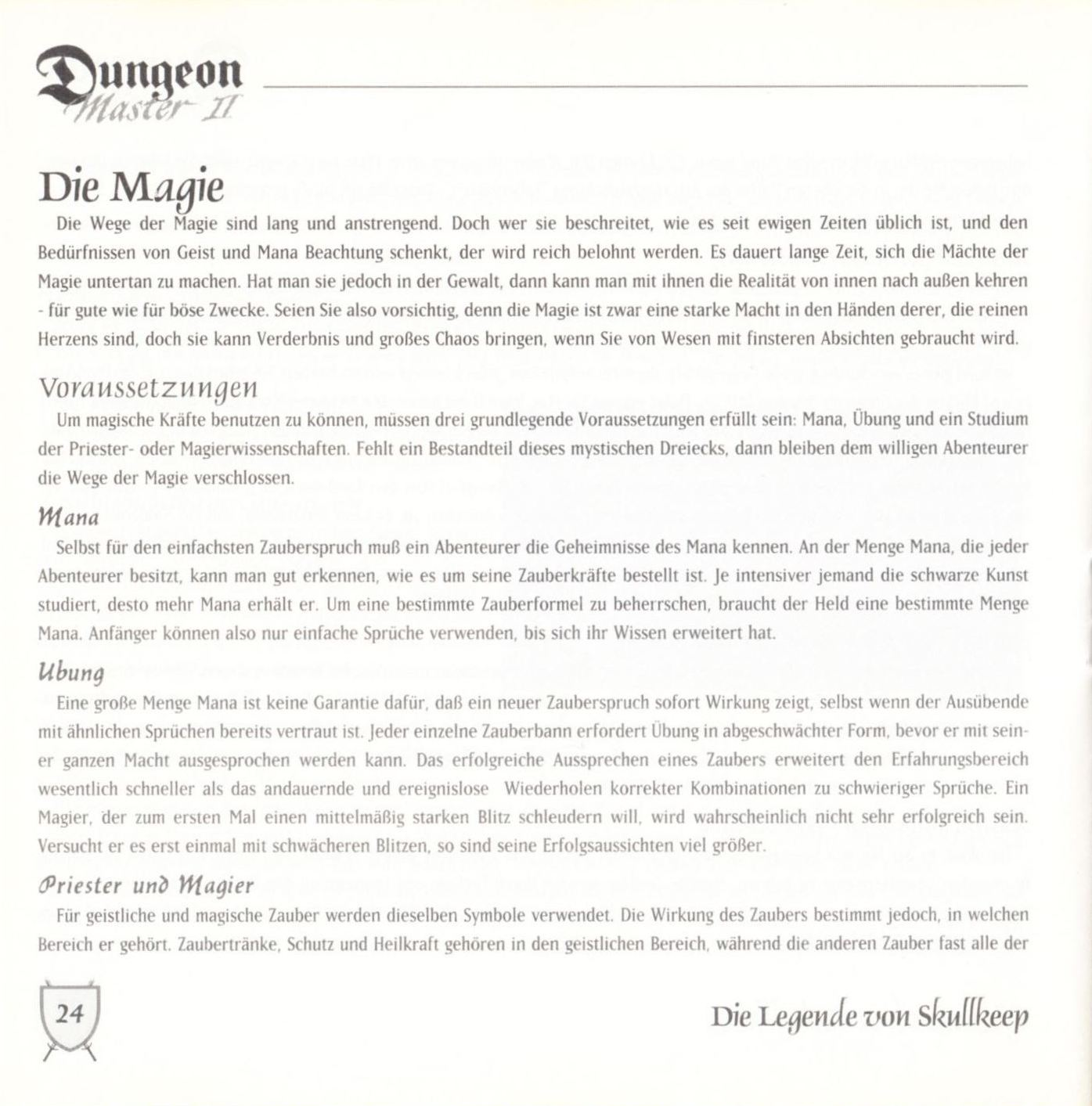 Game - Dungeon Master II - DE - PC - Blackmarket With Booklet - Booklet - Page 026 - Scan