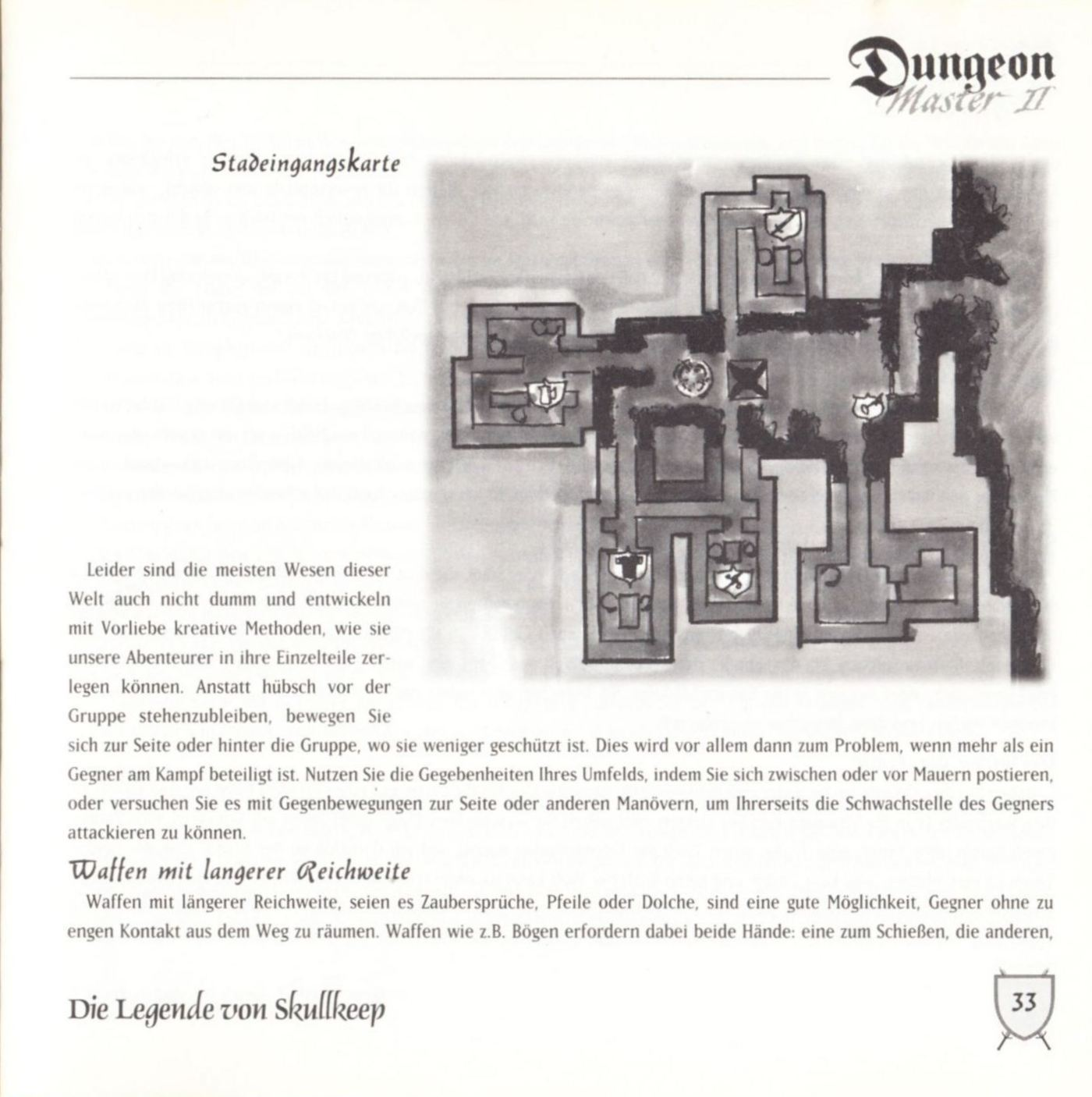 Game - Dungeon Master II - DE - PC - Blackmarket With Booklet - Booklet - Page 035 - Scan