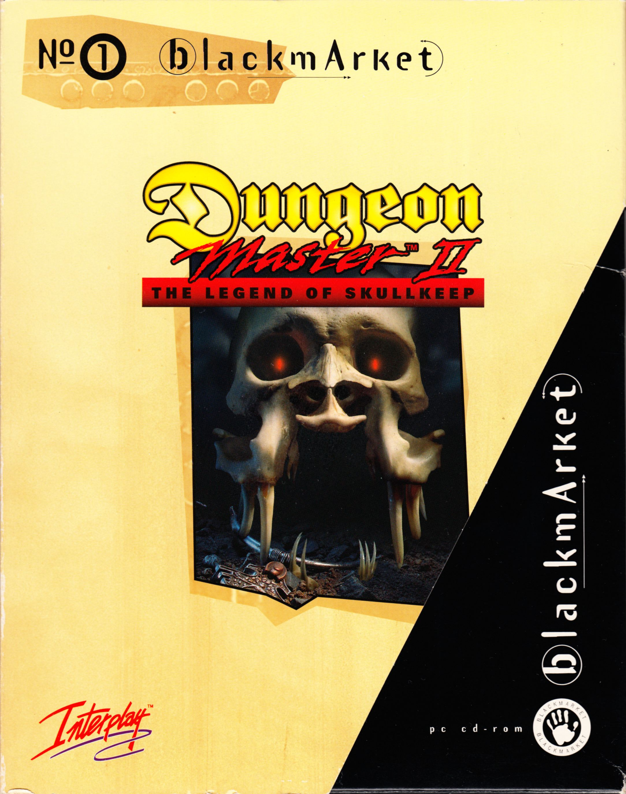 Game - Dungeon Master II - DE - PC - Blackmarket With Booklet - Box With Sleeve Without Sticker - Front - Scan
