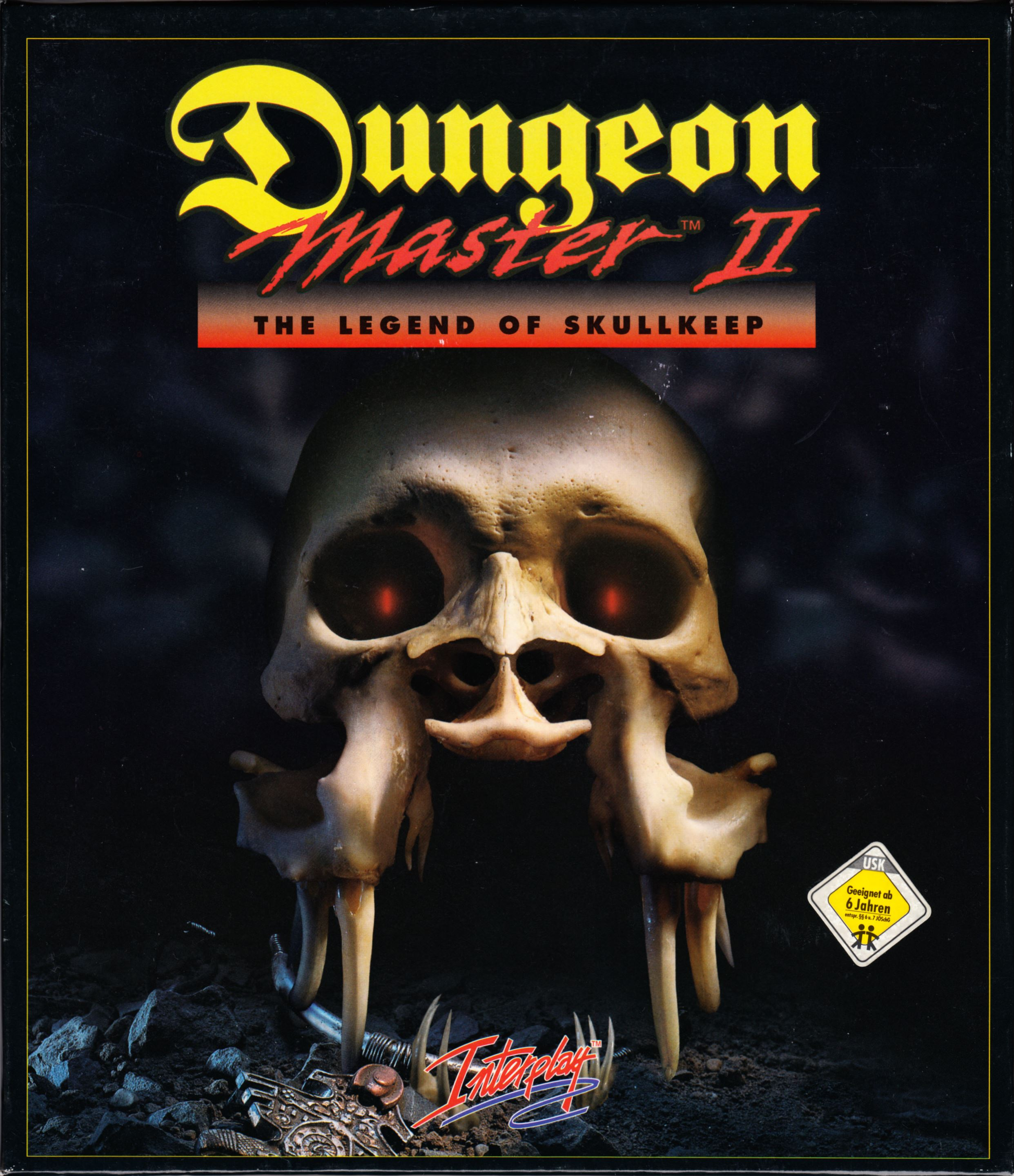 Game - Dungeon Master II - DE - PC - CD Version - Box - Front - Scan