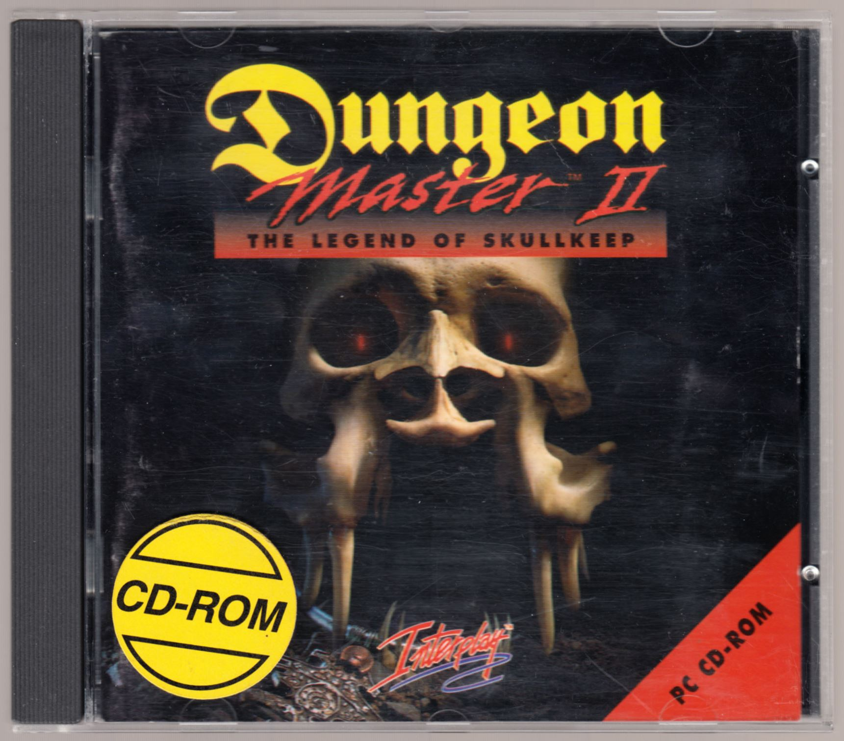 Game - Dungeon Master II - DE - PC - Jewel Case - Box - Front - Scan