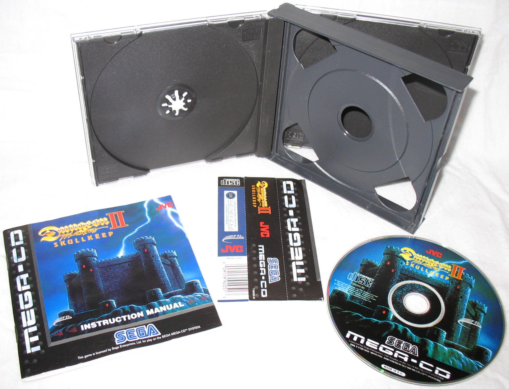 Game - Dungeon Master II - EU - Mega CD - All - Overview - Photo