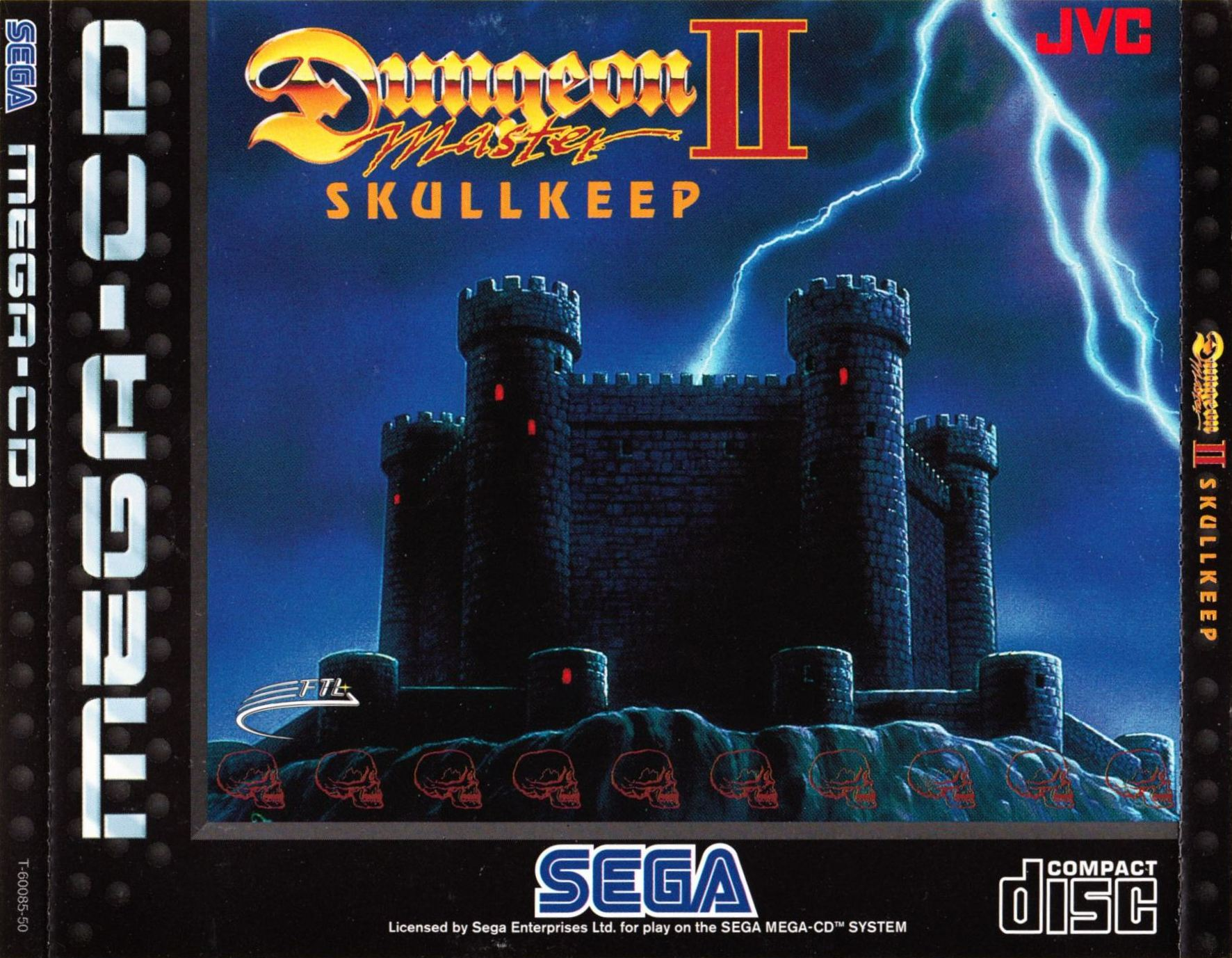 Game - Dungeon Master II - EU - Mega CD - Front Card - Front - Scan