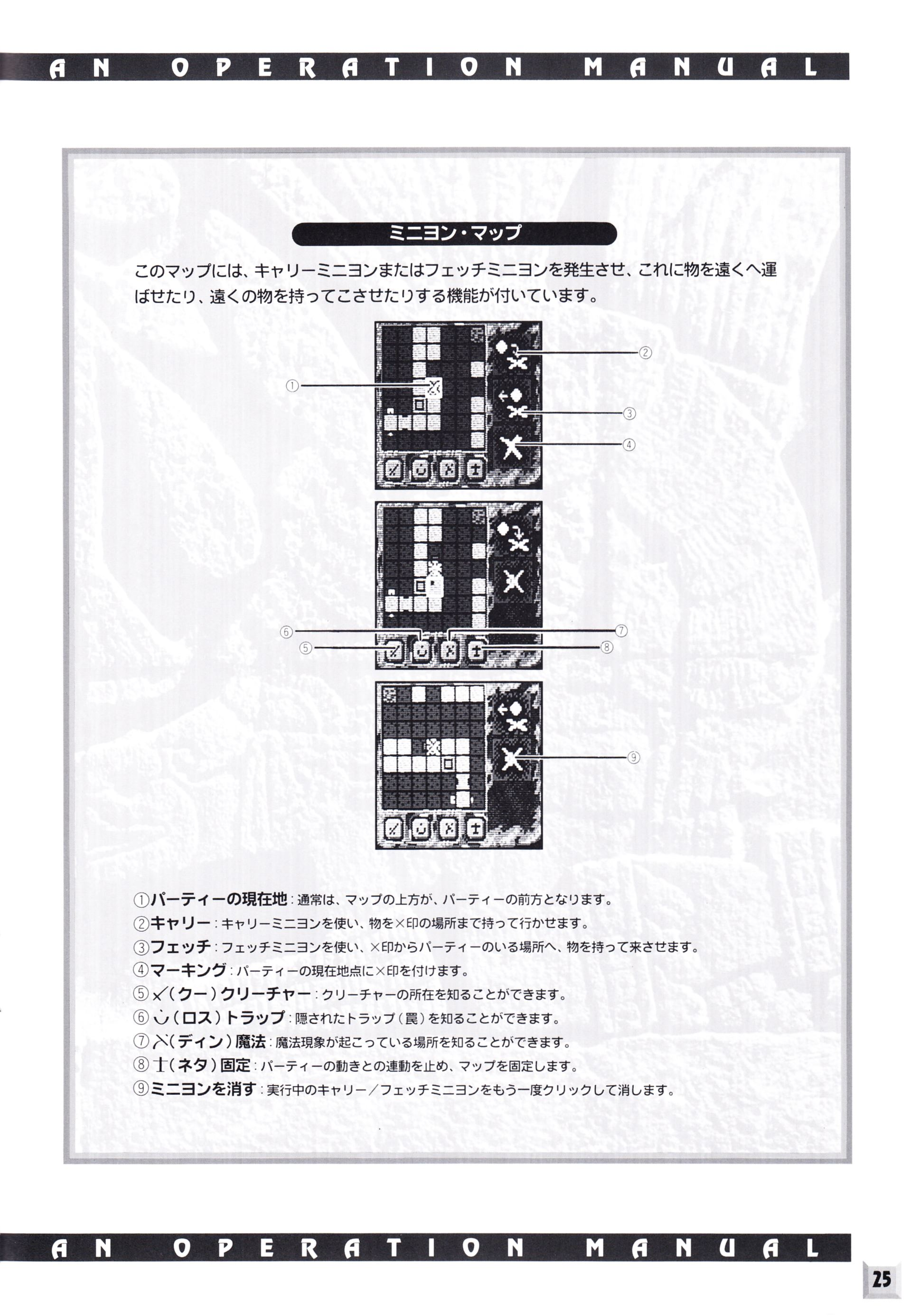 Game - Dungeon Master II - JP - PC-9821 - An Operation Manual - Page 027 - Scan