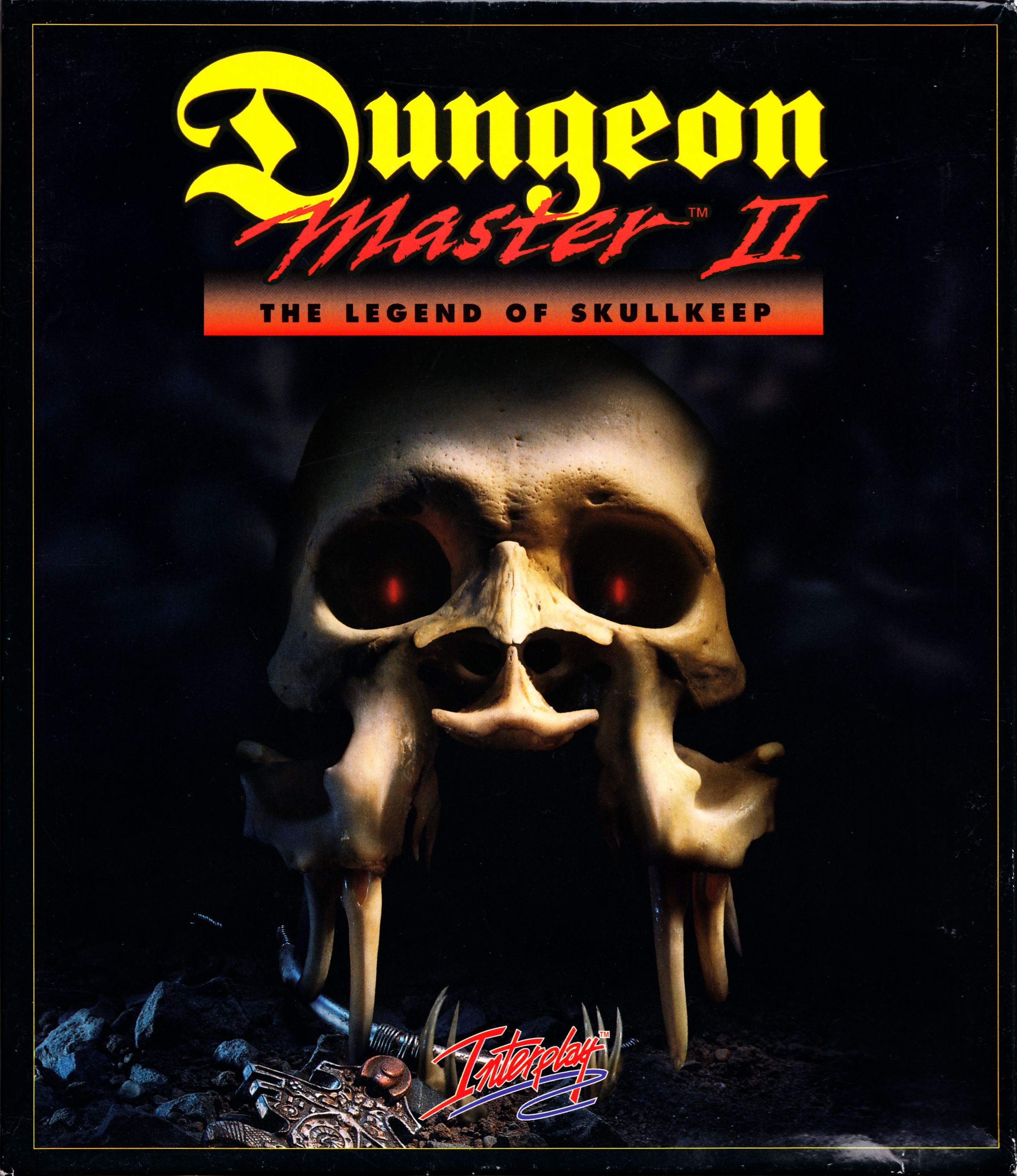 Game - Dungeon Master II - UK - Amiga Alternate - Box - Front - Scan