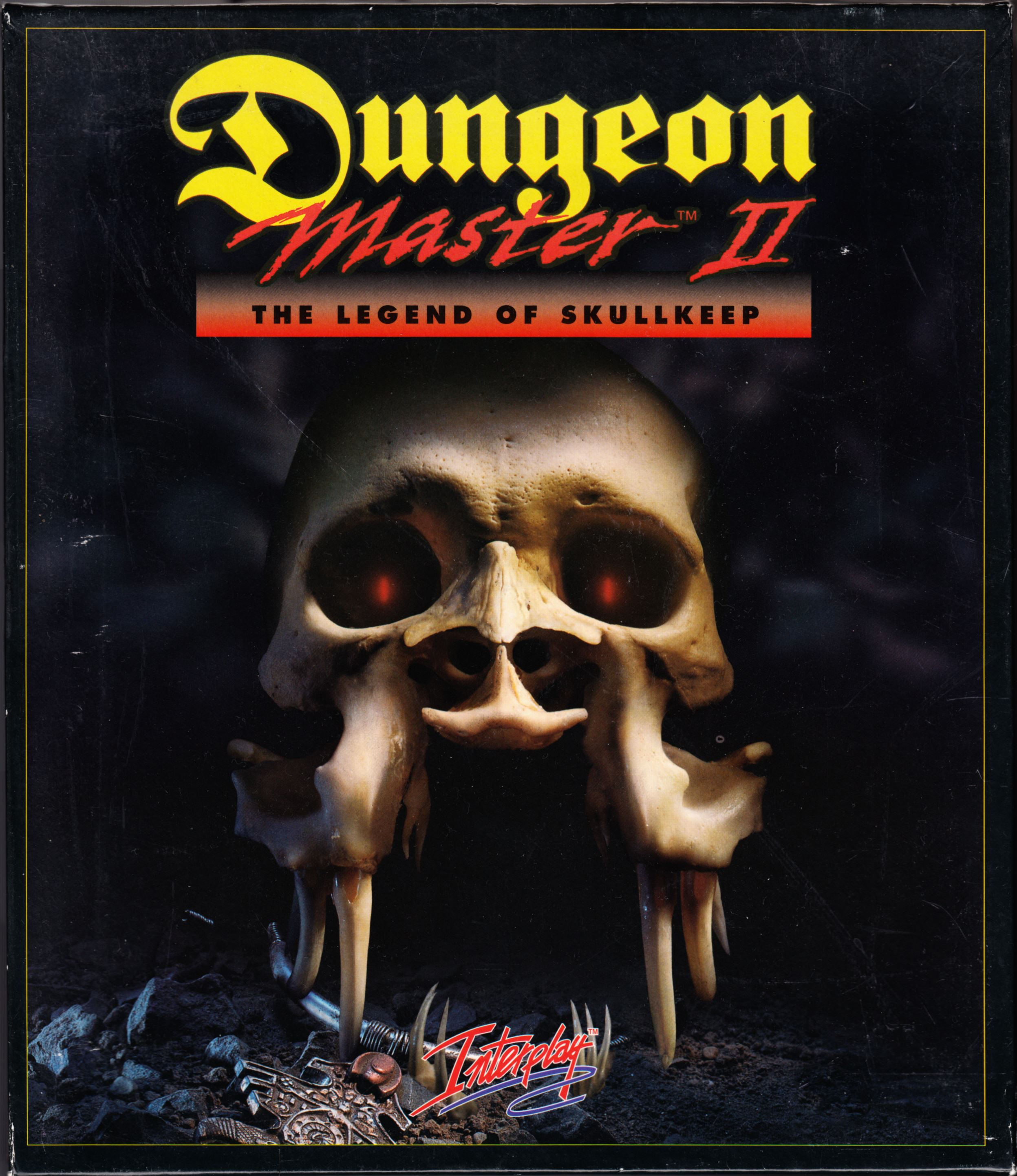 Game - Dungeon Master II - UK - Amiga - Box - Front - Scan