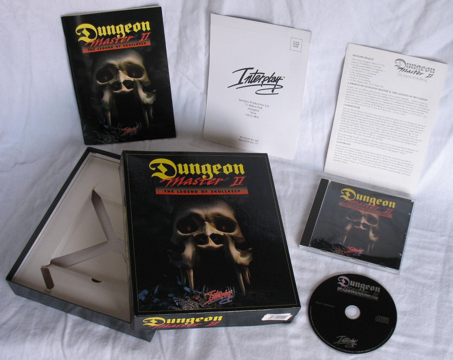 Game - Dungeon Master II - UK - Macintosh - All - Overview - Photo