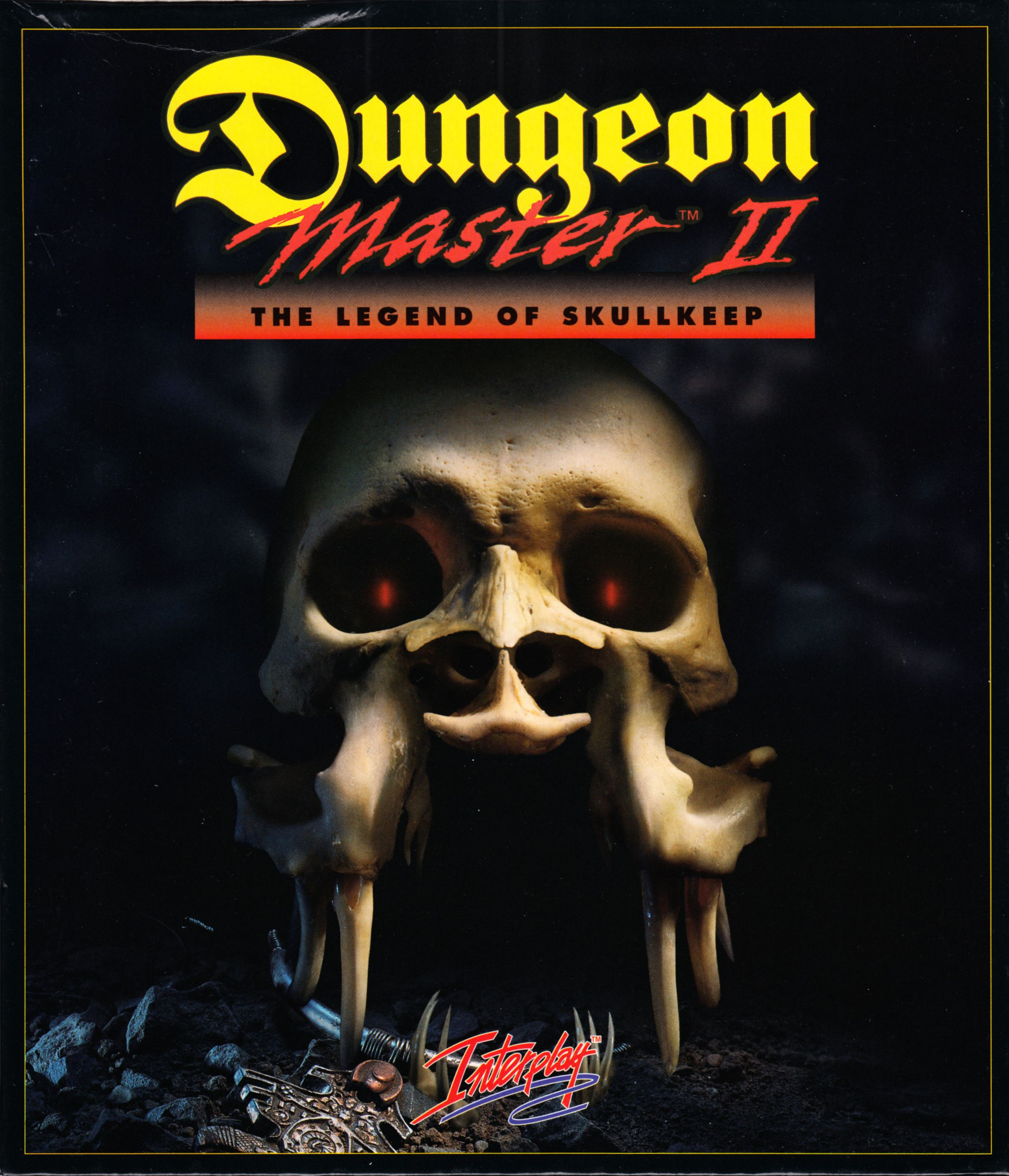 Game - Dungeon Master II - UK - Macintosh - Box - Front - Scan