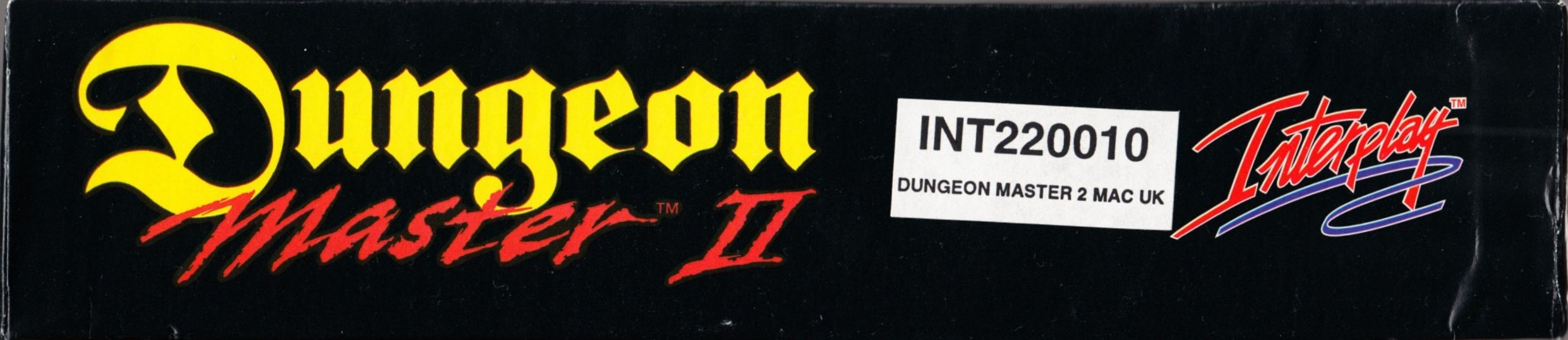 Game - Dungeon Master II - UK - Macintosh - Box - Top - Scan
