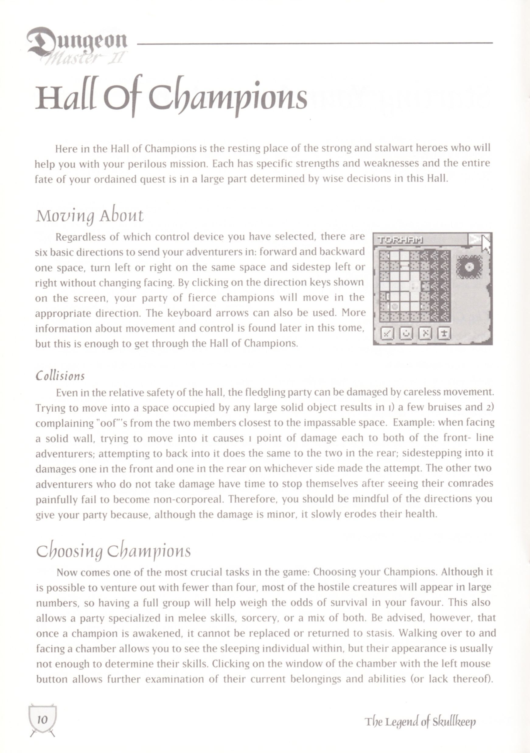 Game - Dungeon Master II - UK - Macintosh - Manual - Page 012 - Scan