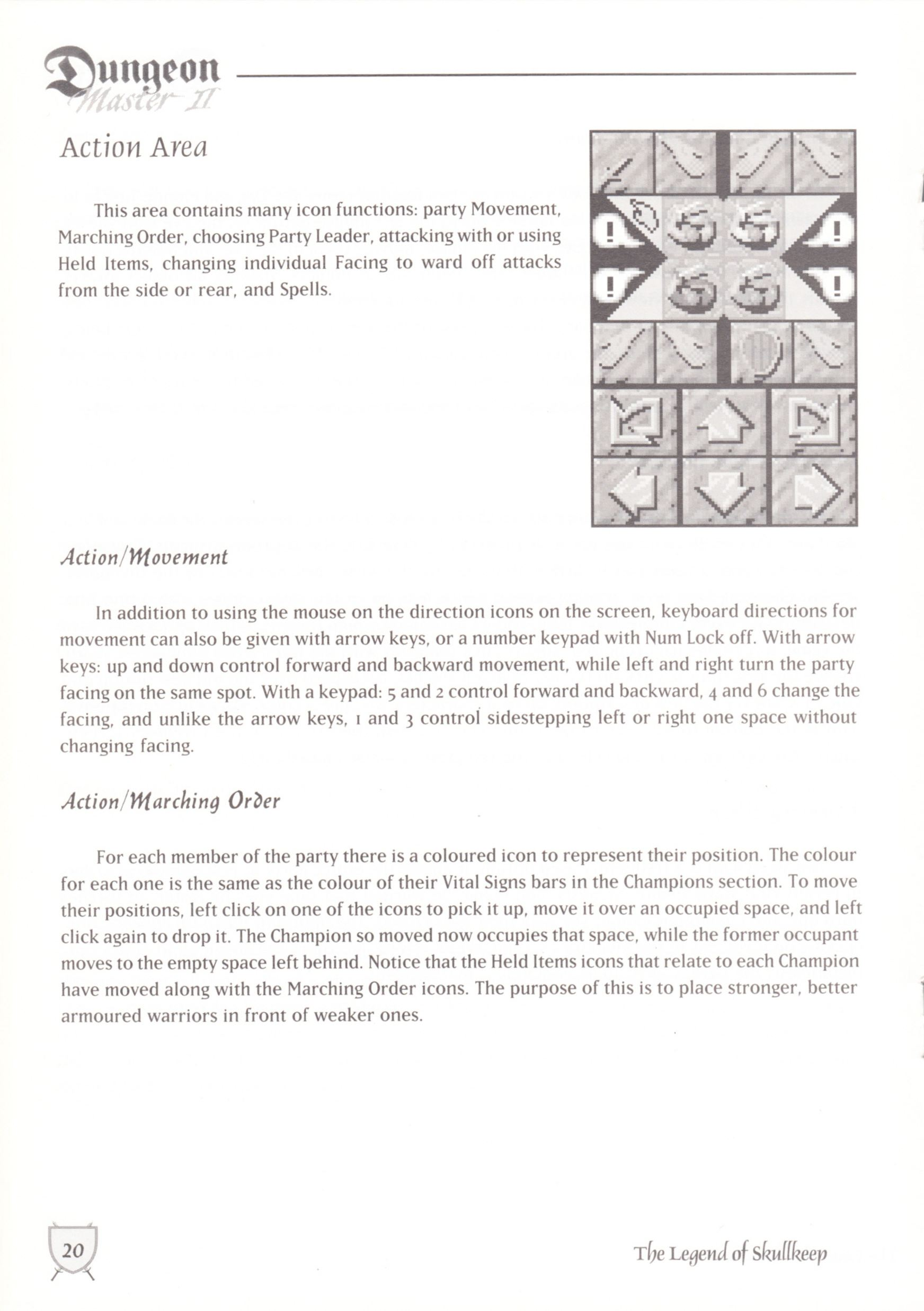 Game - Dungeon Master II - UK - Macintosh - Manual - Page 022 - Scan