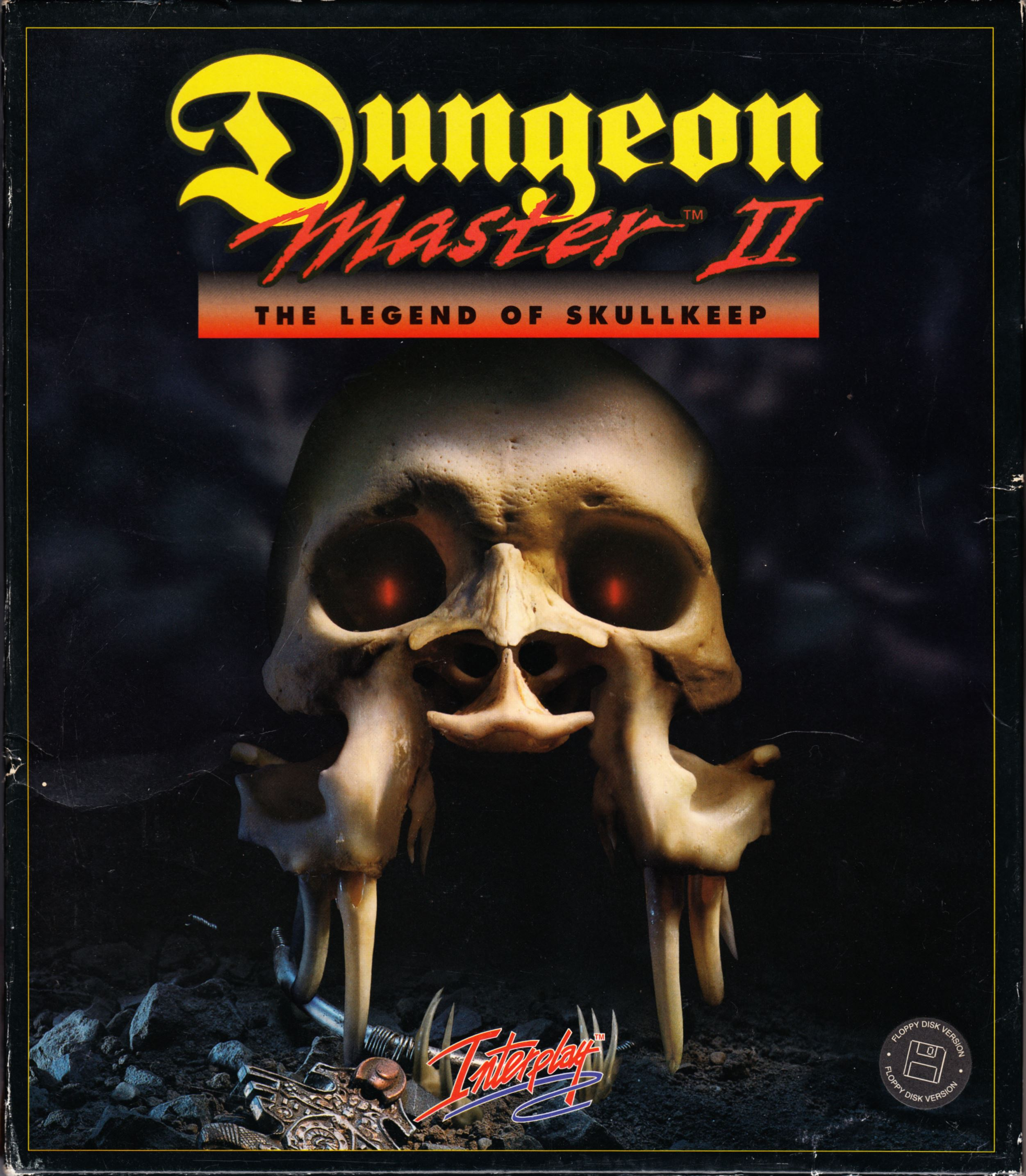 Game - Dungeon Master II - UK - PC - Floppy Version - Box - Front - Scan