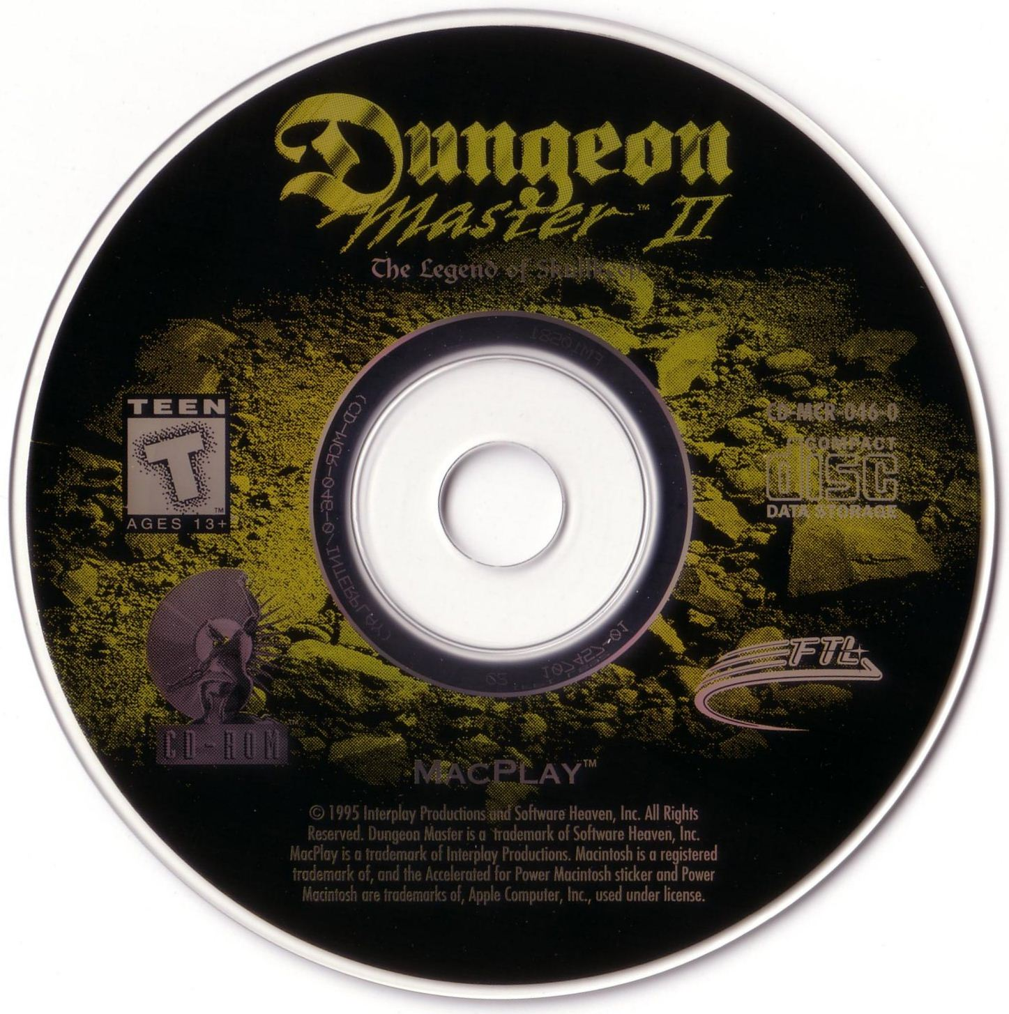 Game - Dungeon Master II - US - Macintosh - Compact Disc - Front - Scan