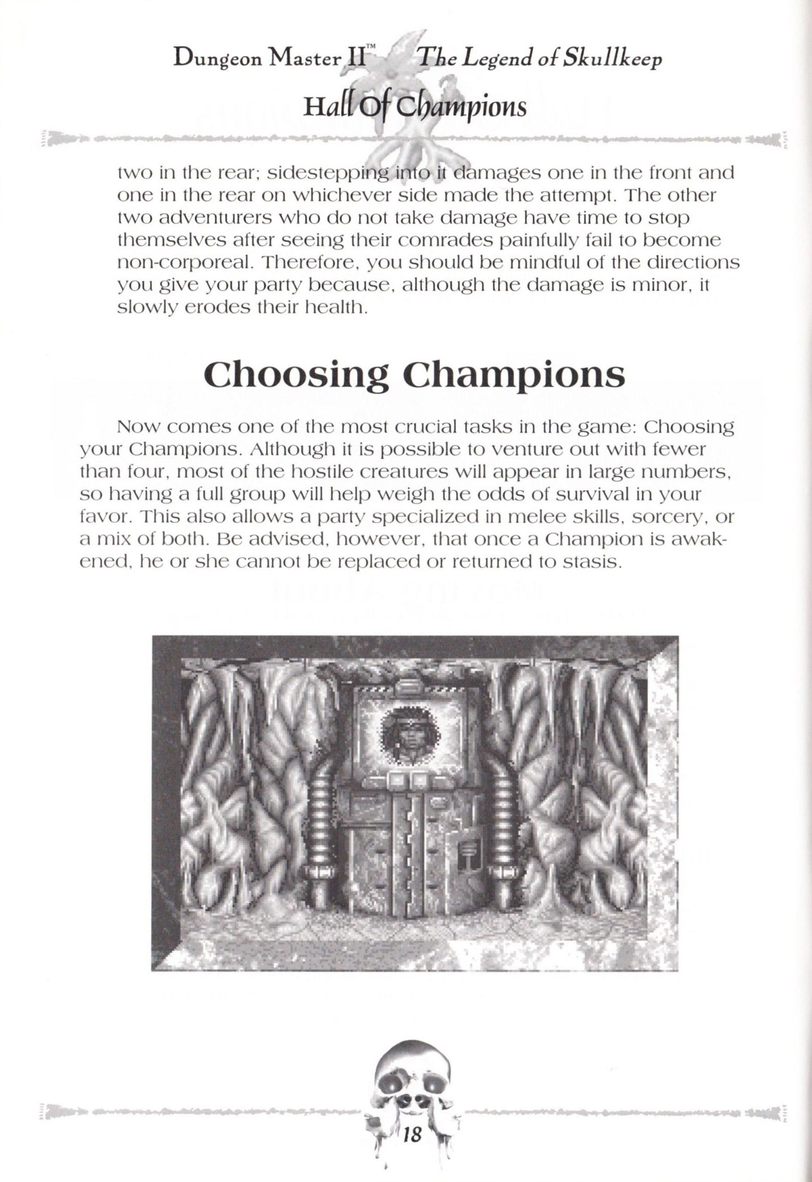 Game - Dungeon Master II - US - Macintosh - Manual - Page 020 - Scan