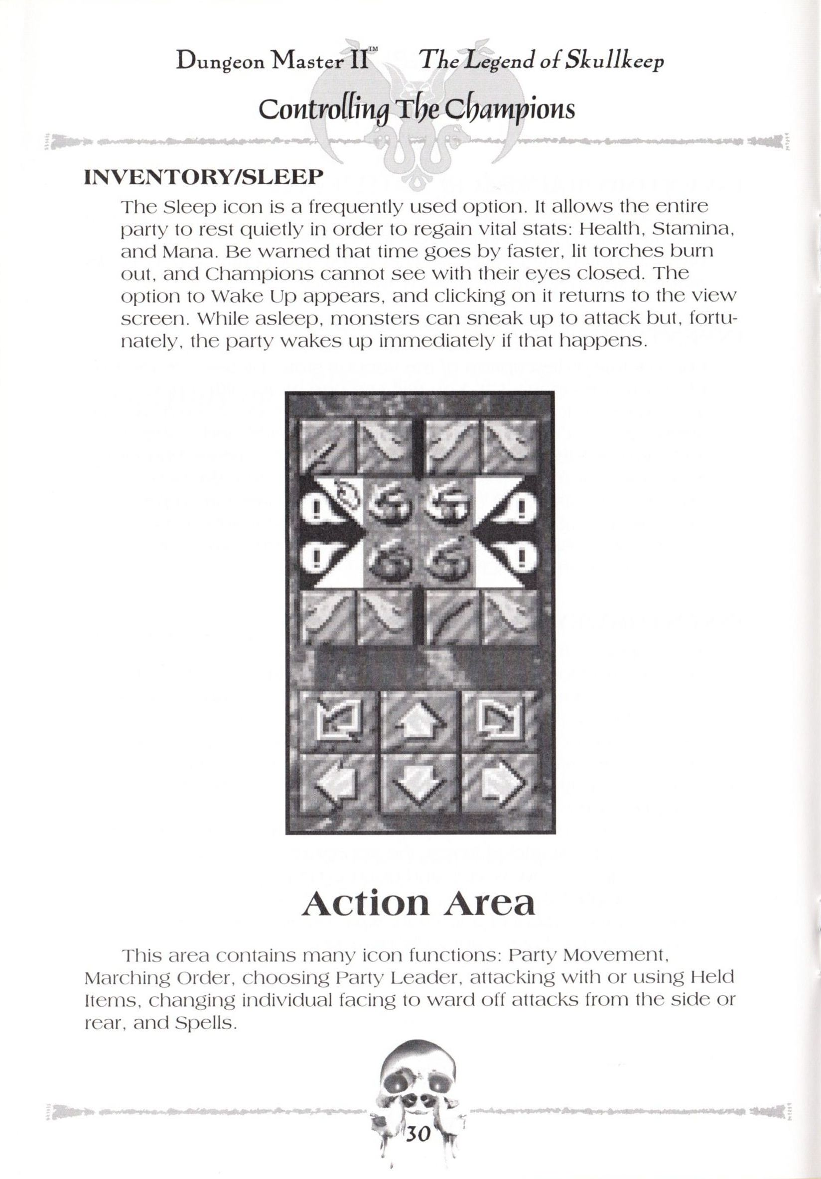 Game - Dungeon Master II - US - Macintosh - Manual - Page 032 - Scan