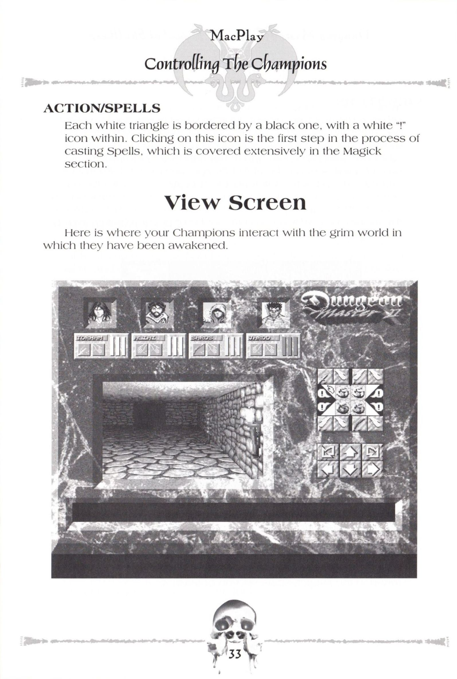 Game - Dungeon Master II - US - Macintosh - Manual - Page 035 - Scan