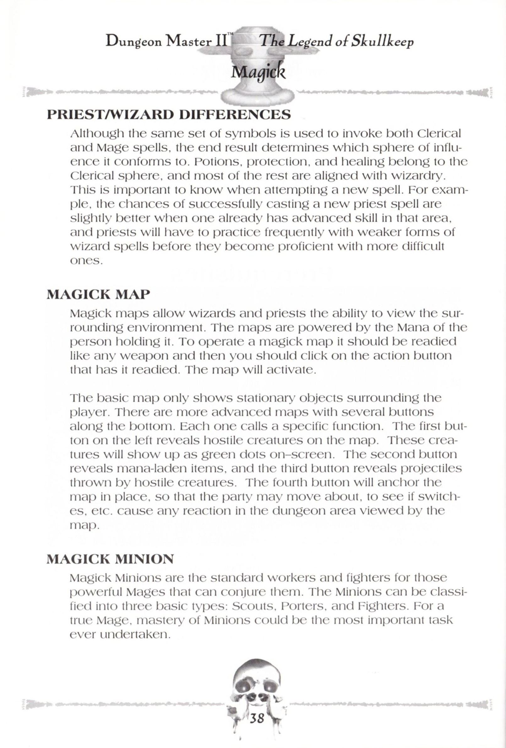Game - Dungeon Master II - US - Macintosh - Manual - Page 040 - Scan