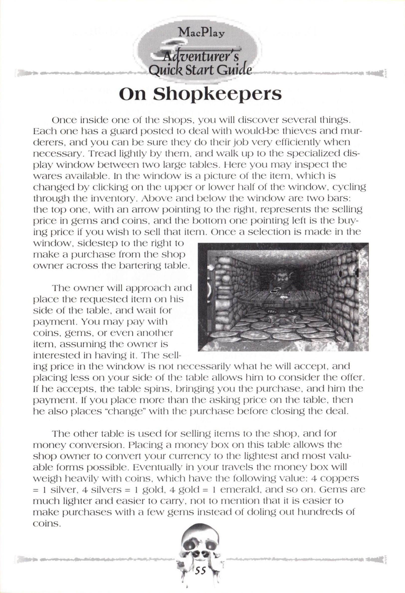Game - Dungeon Master II - US - Macintosh - Manual - Page 057 - Scan