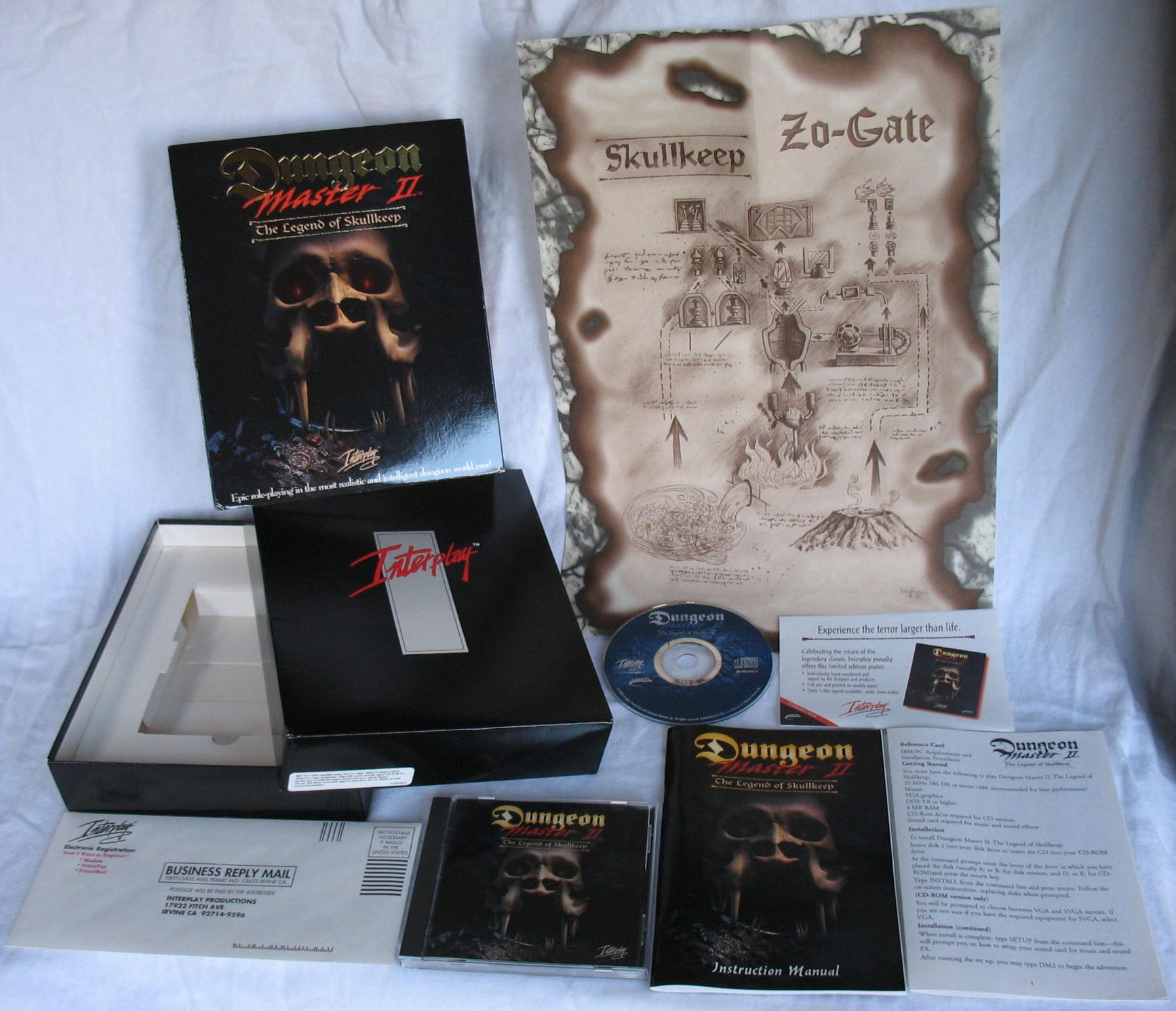 Game - Dungeon Master II - US - PC - Big Box - All - Overview - Photo