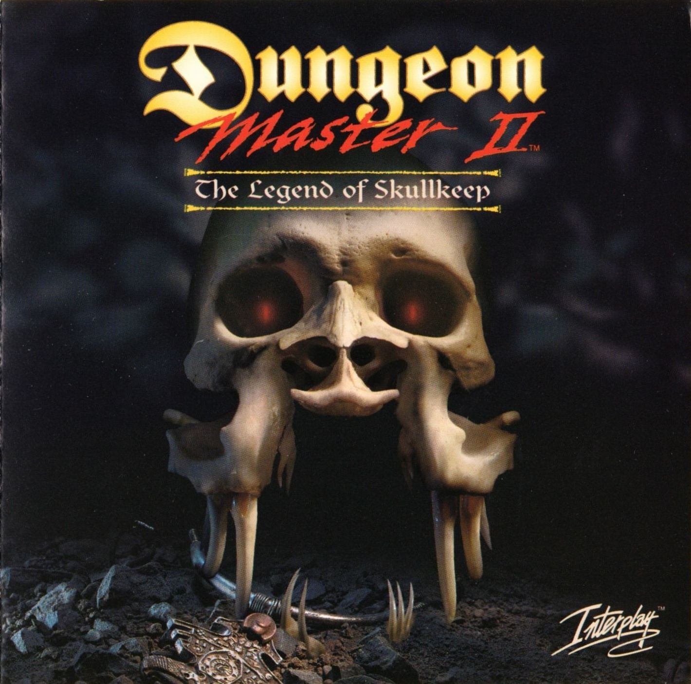Game - Dungeon Master II - US - PC - Big Box - Booklet - Page 001 - Scan