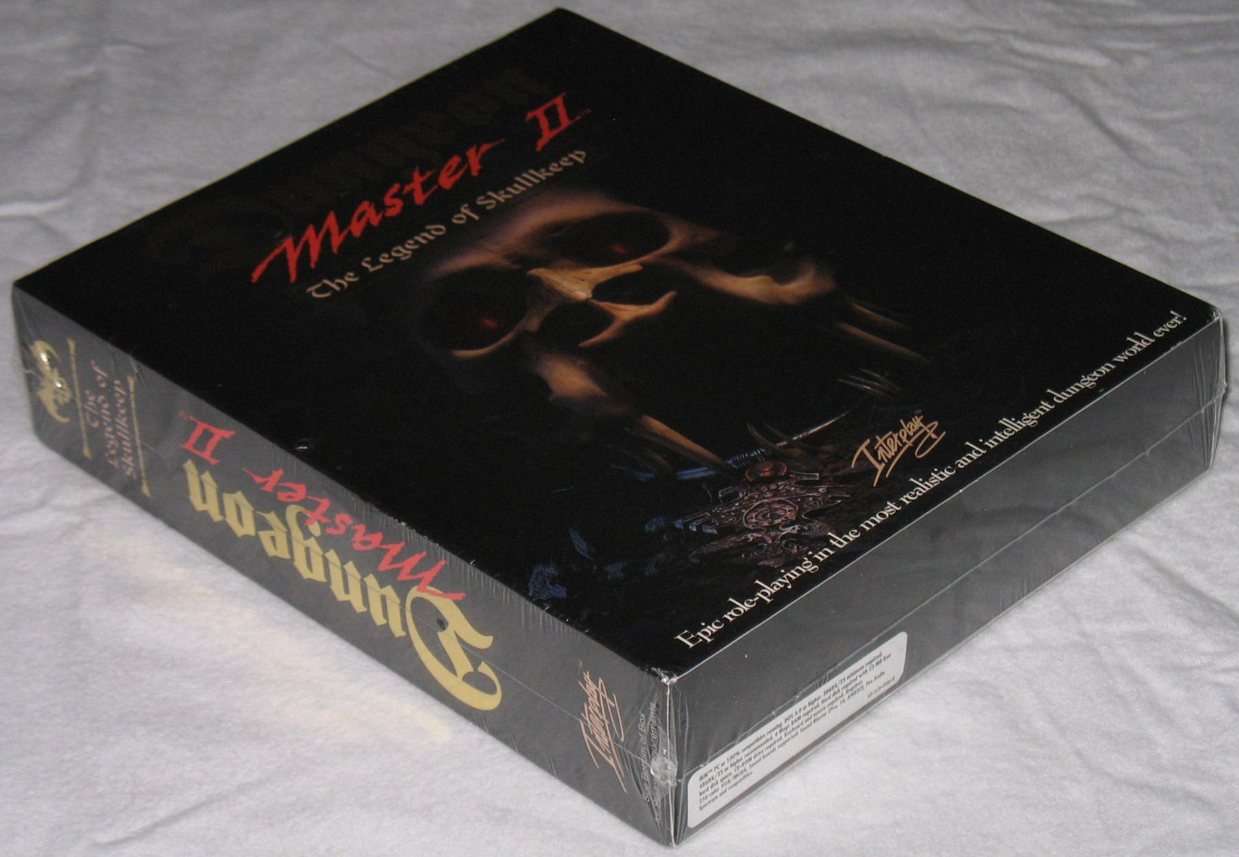 Game - Dungeon Master II - US - PC - Big Box - Box - Front Left Bottom - Photo
