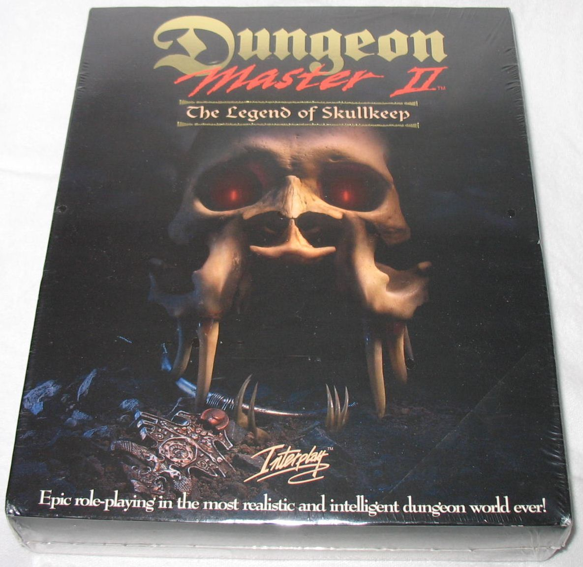 Game - Dungeon Master II - US - PC - Big Box - Box - Front - Photo