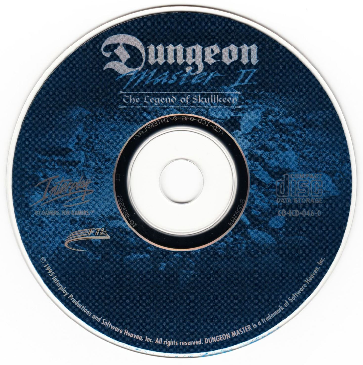 Game - Dungeon Master II - US - PC - Big Box - Compact Disc - Front - Scan