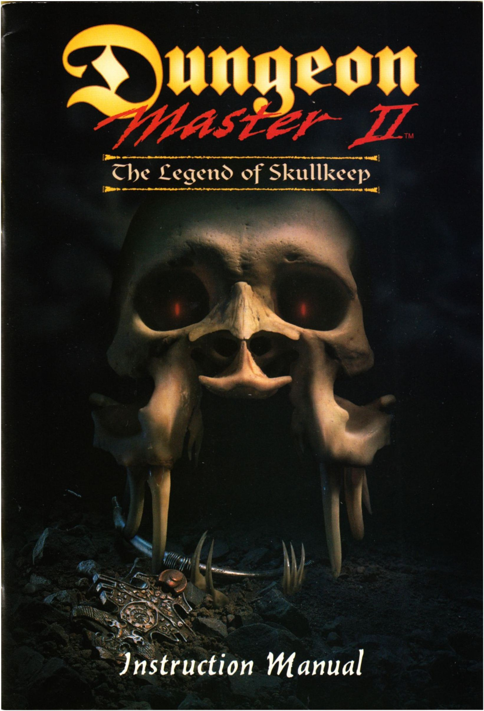 Game - Dungeon Master II - US - PC - Big Box - Manual - Page 001 - Scan
