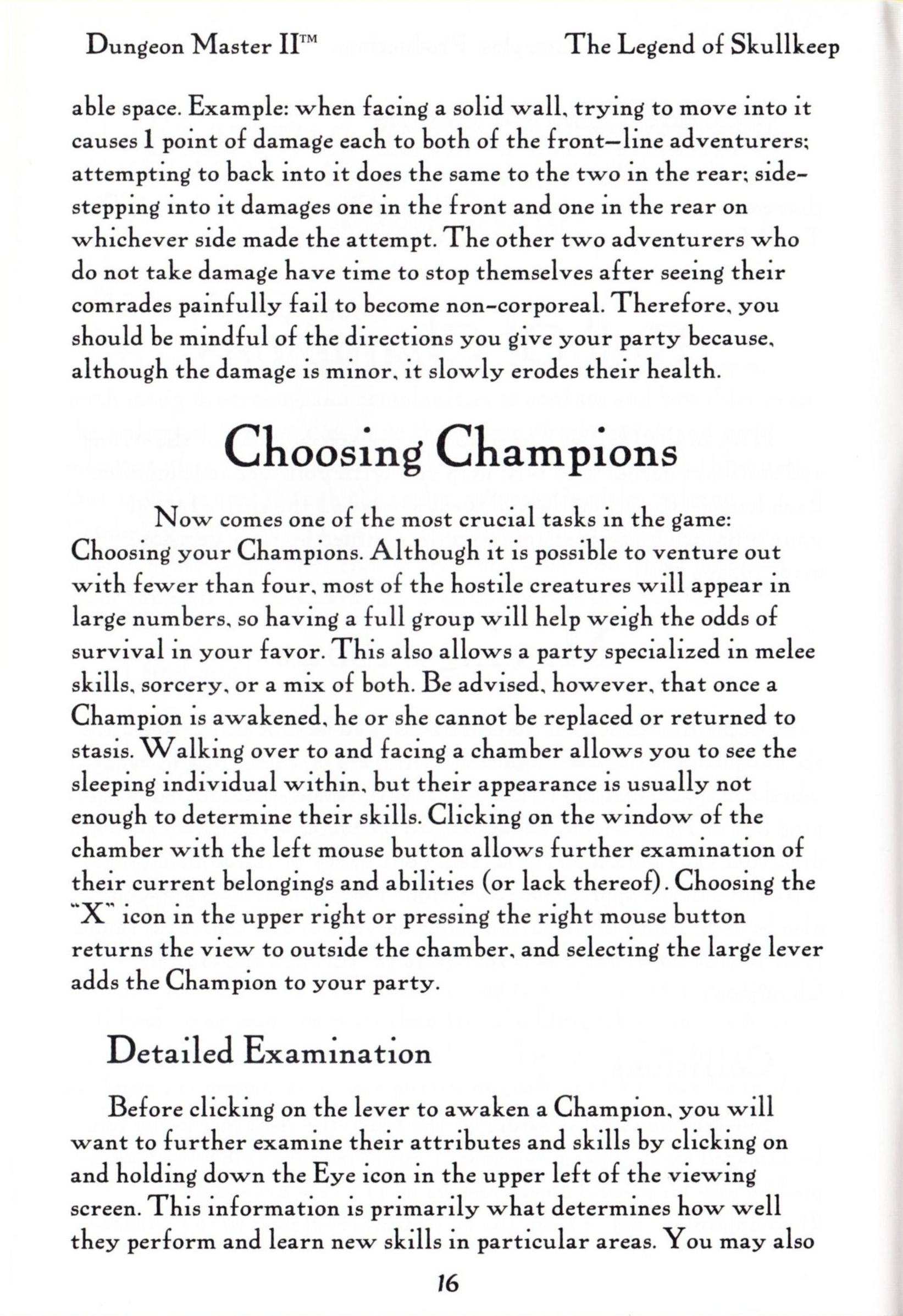 Game - Dungeon Master II - US - PC - Big Box - Manual - Page 018 - Scan