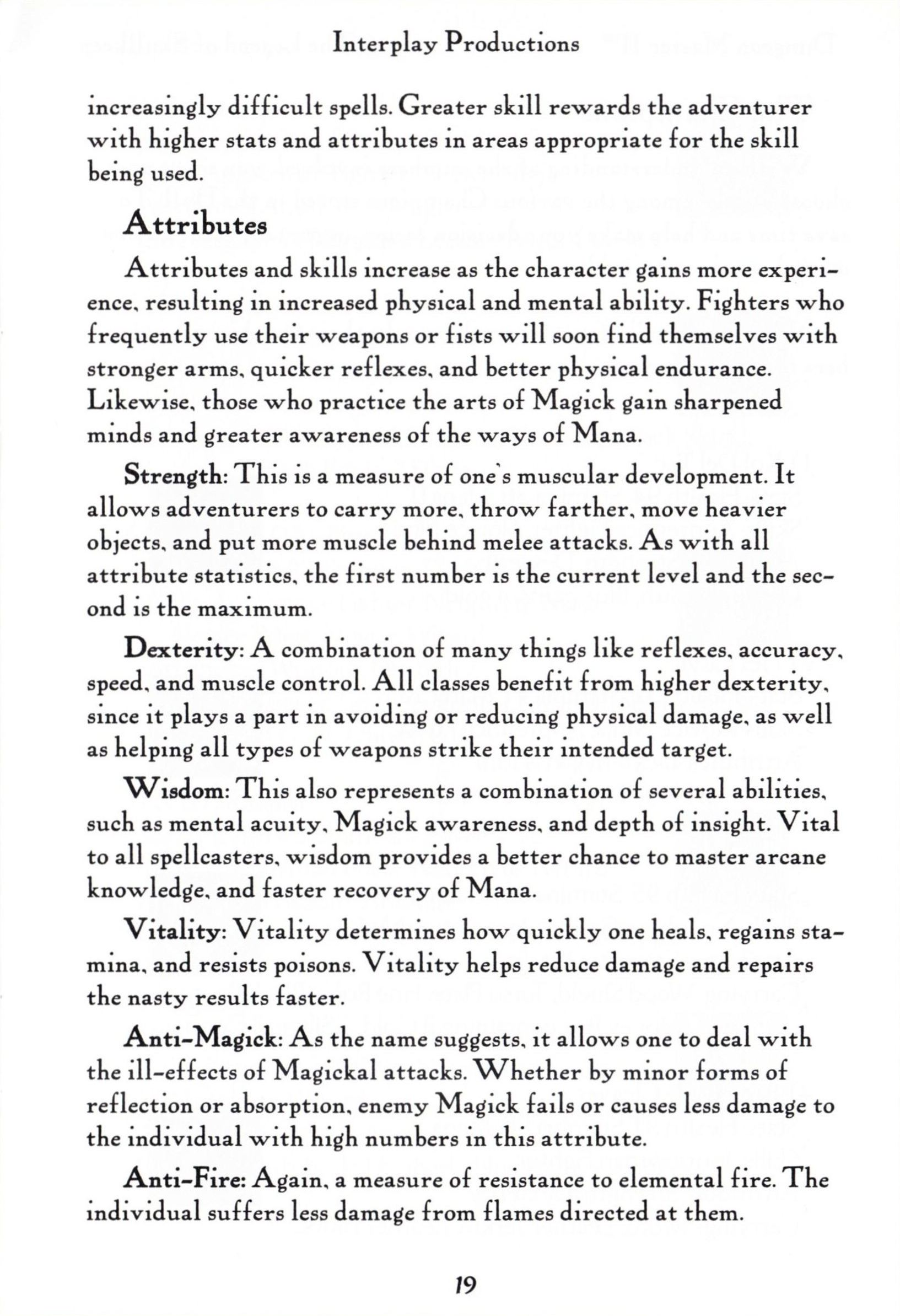 Game - Dungeon Master II - US - PC - Big Box - Manual - Page 021 - Scan