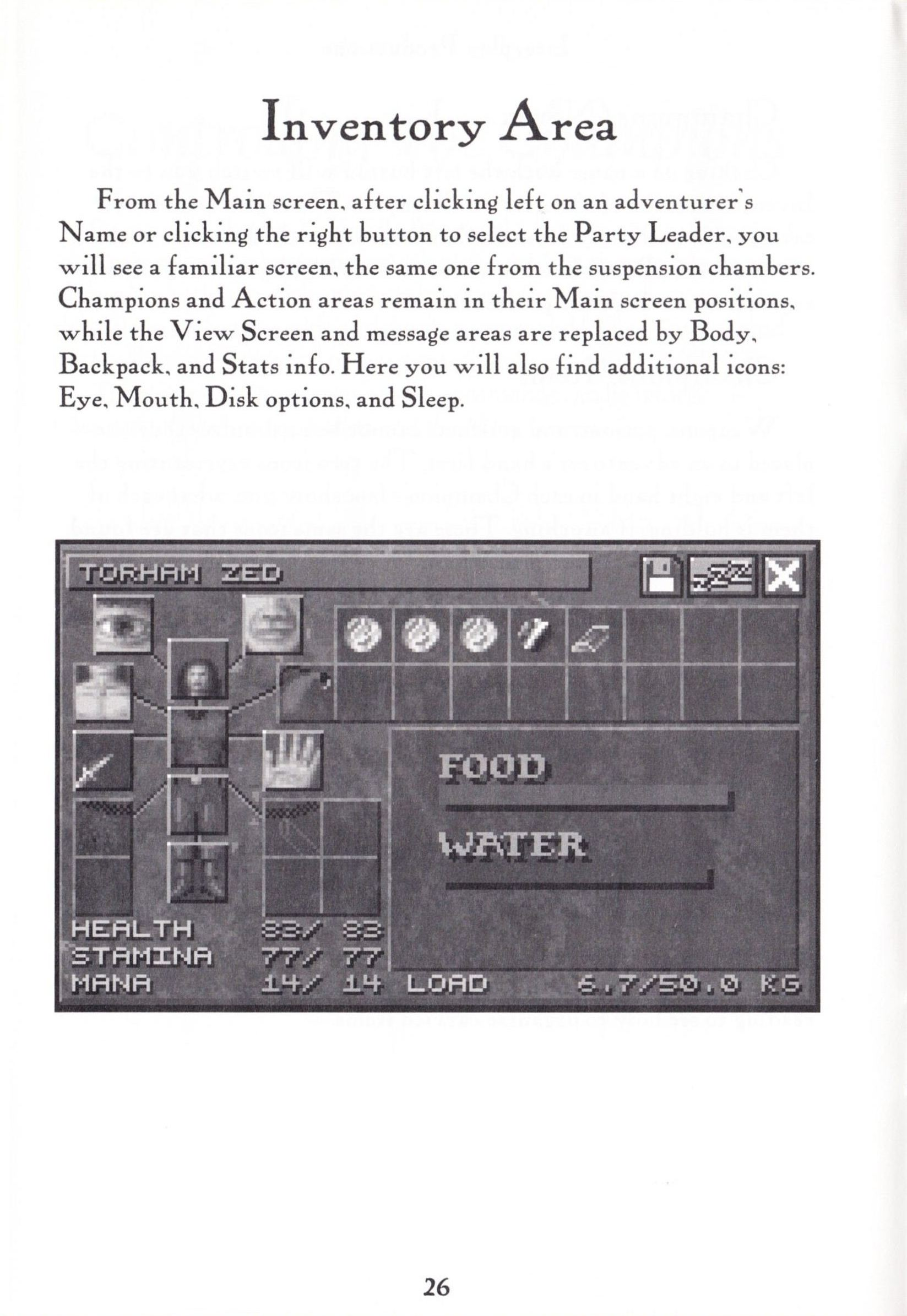 Game - Dungeon Master II - US - PC - Big Box - Manual - Page 028 - Scan