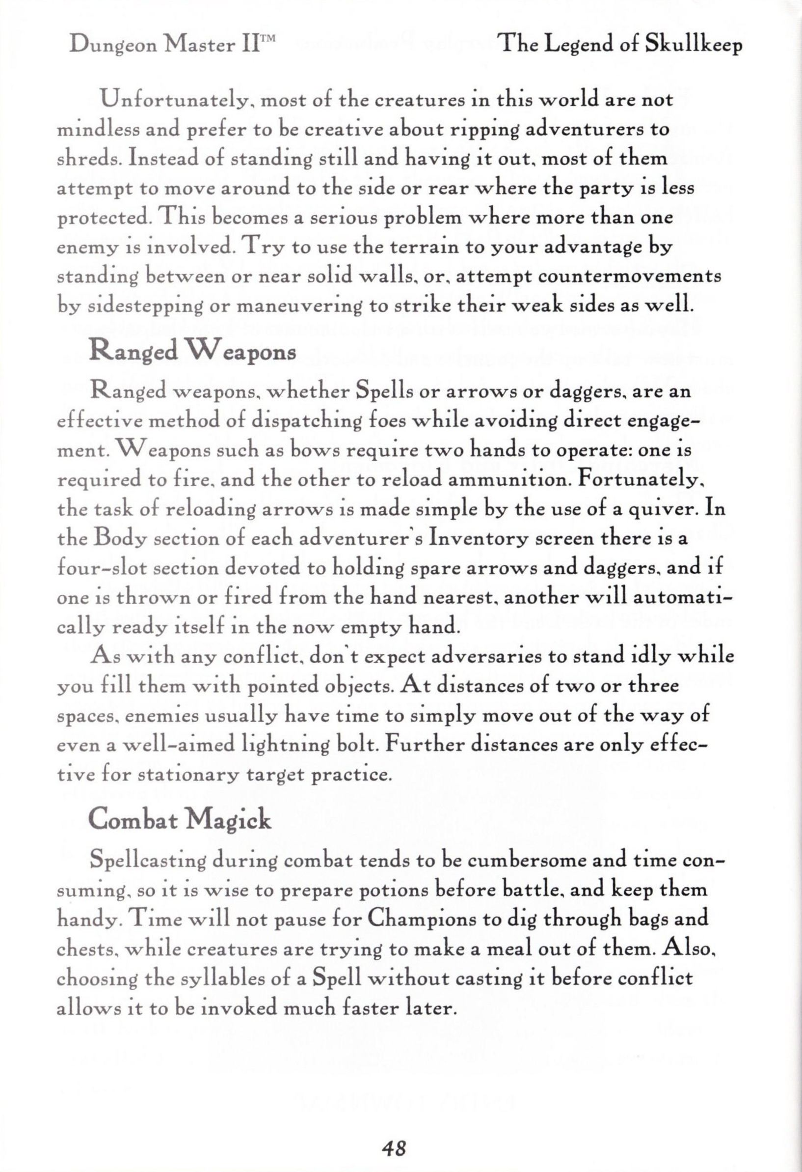 Game - Dungeon Master II - US - PC - Big Box - Manual - Page 050 - Scan