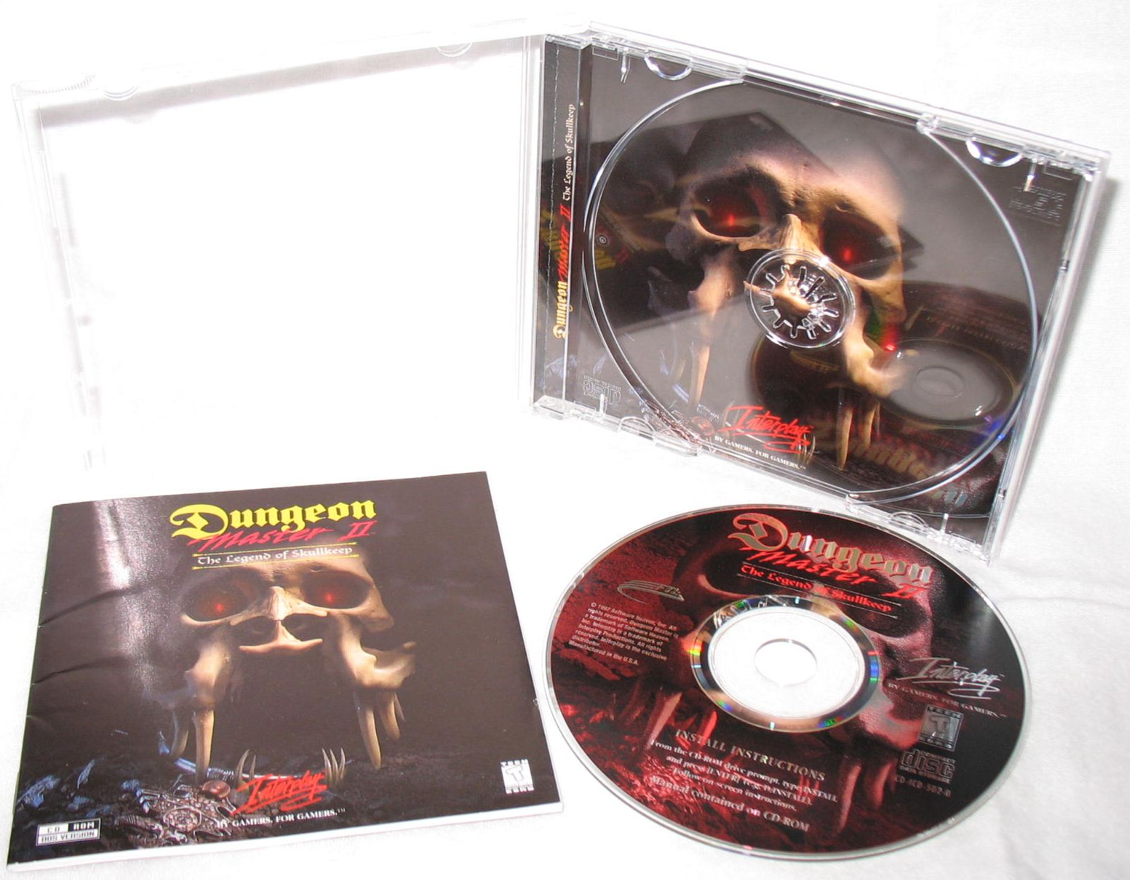 Game - Dungeon Master II - US - PC - Jewel Case - All - Overview - Photo