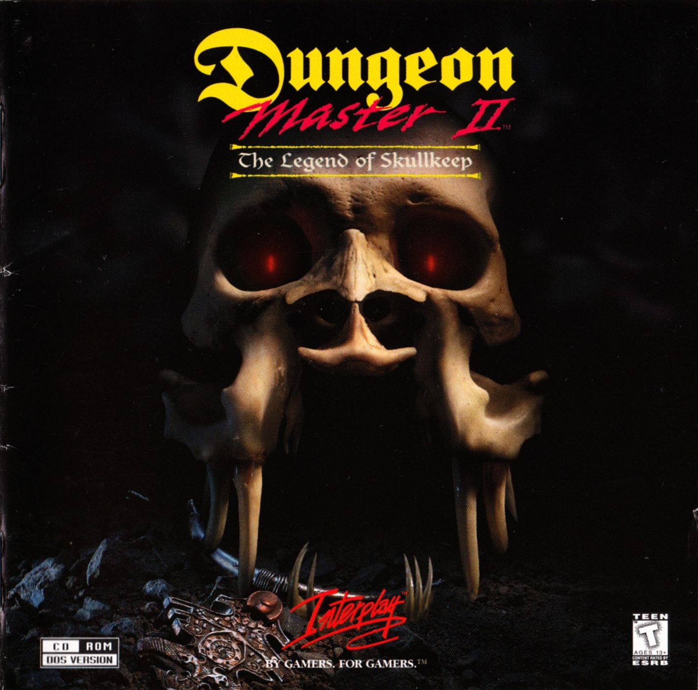 Game - Dungeon Master II - US - PC - Jewel Case - Booklet - Page 001 - Scan