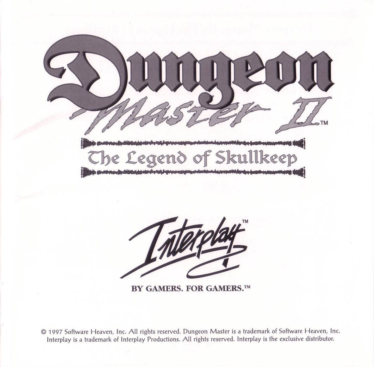 Game - Dungeon Master II - US - PC - Jewel Case - Booklet - Page 003 - Scan