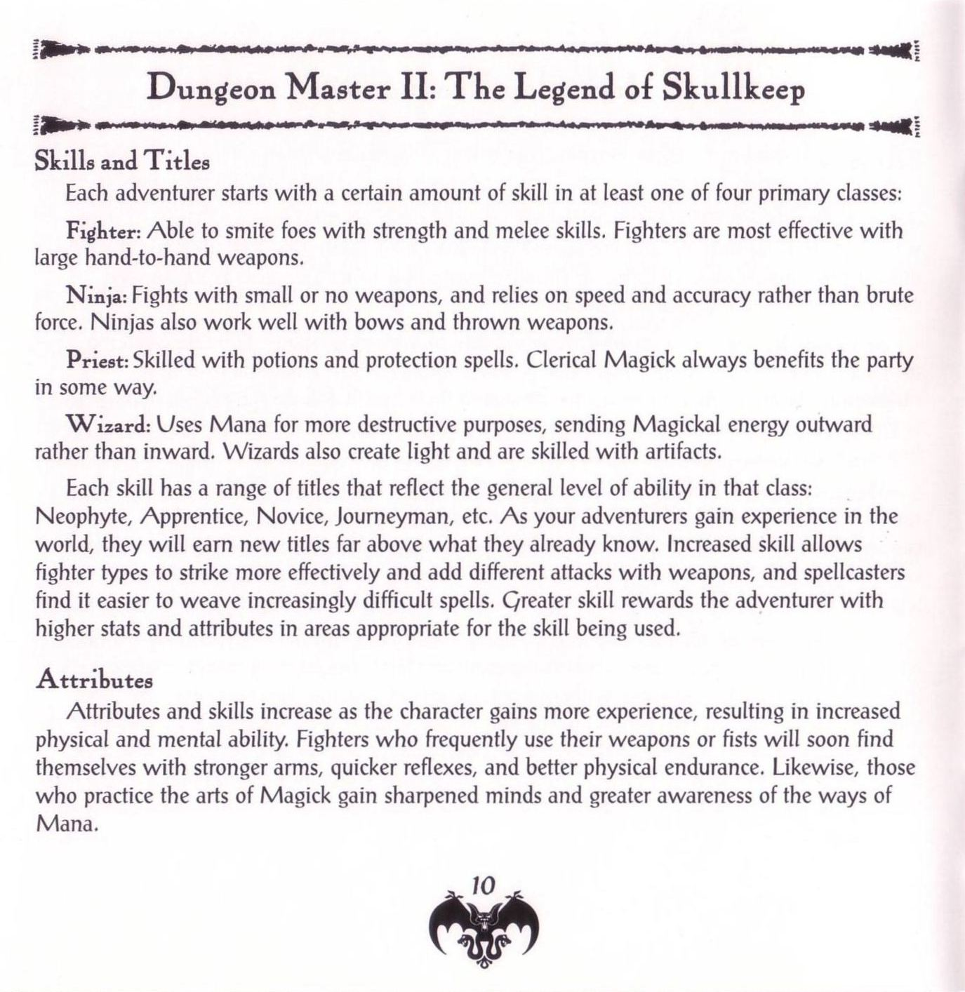 Game - Dungeon Master II - US - PC - Jewel Case - Booklet - Page 012 - Scan